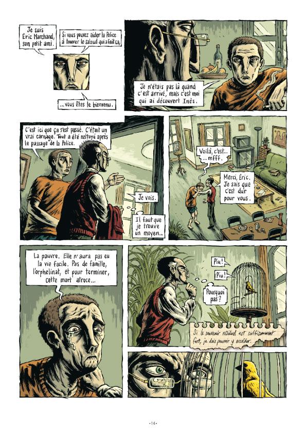 Extrait n°15 de la bd tome 3 par Erwan Courbier