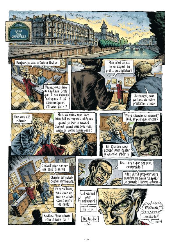 Extrait n°18 de la bd tome 3 par Erwan Courbier