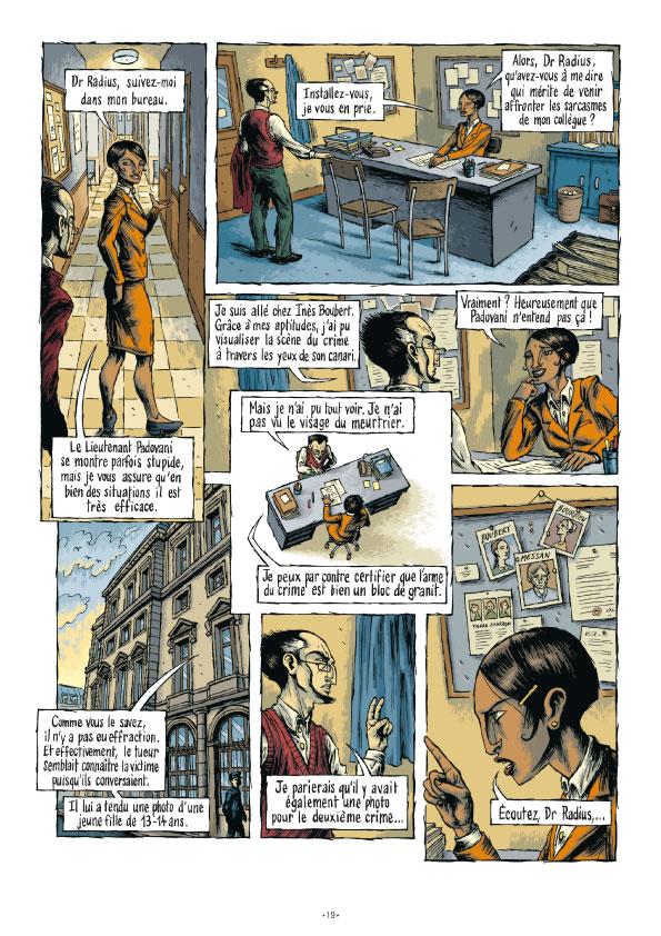 Extrait n°19 de la bd tome 3 par Erwan Courbier