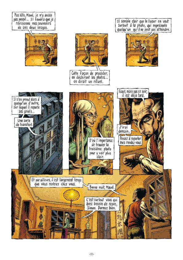 Extrait n°20 de la bd tome 3 par Erwan Courbier