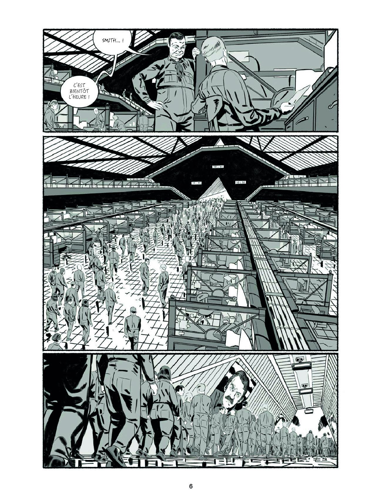Extrait n°6 de la bd 1984 par Jean-Christophe Derrien