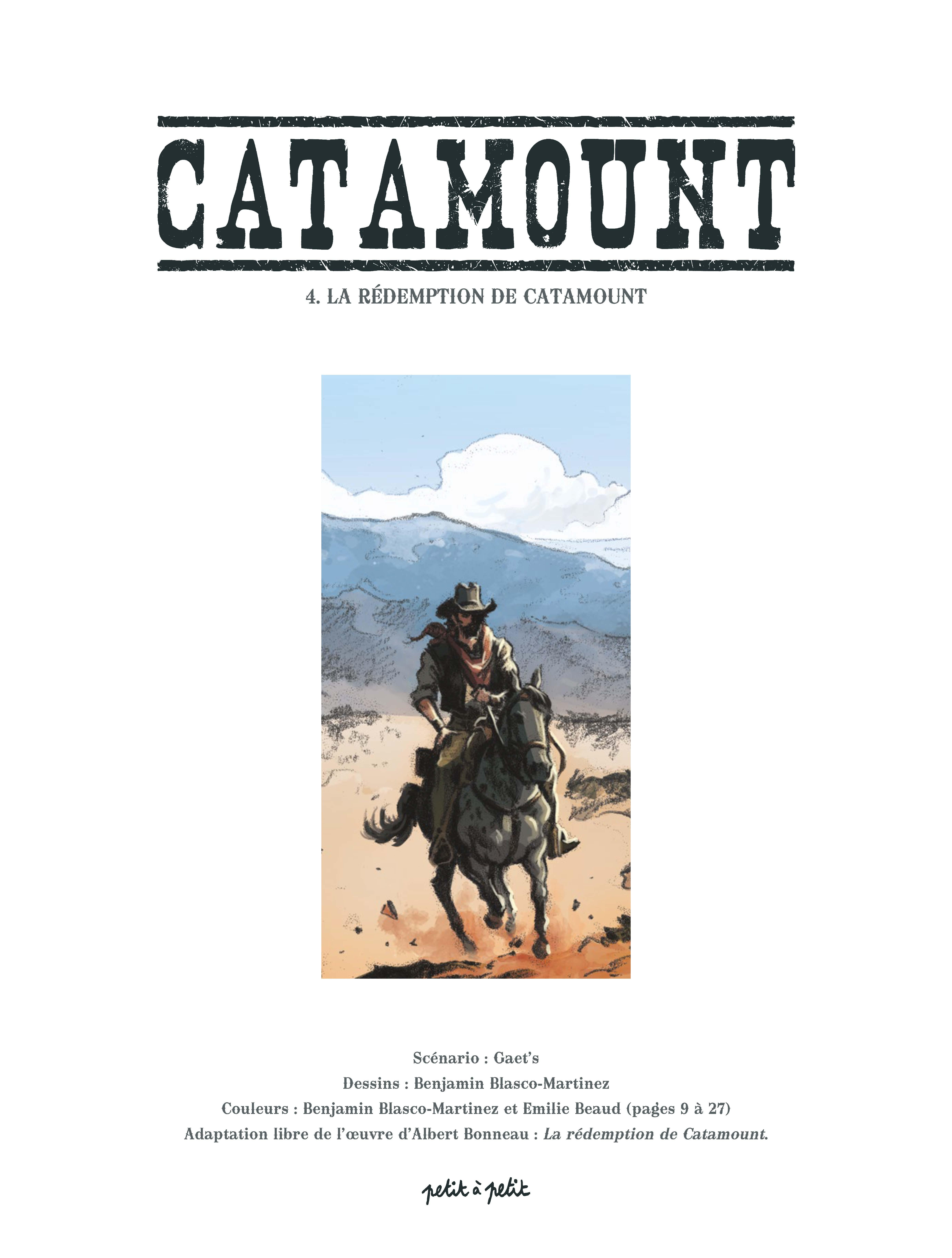 La rédemption de Catamount - exraits
