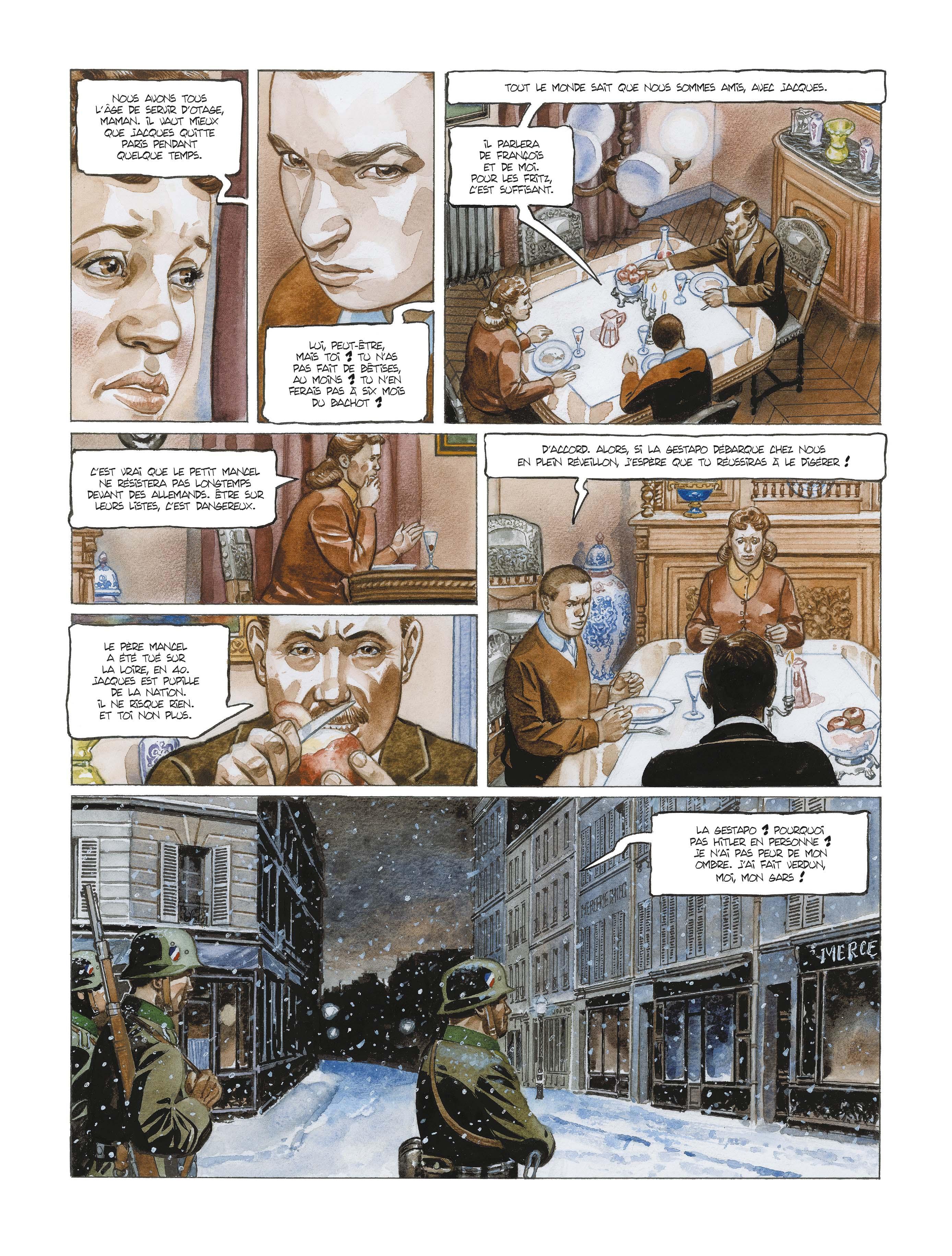 Extrait n°5 de la bd L'école buissonnière par Alain Mounier
