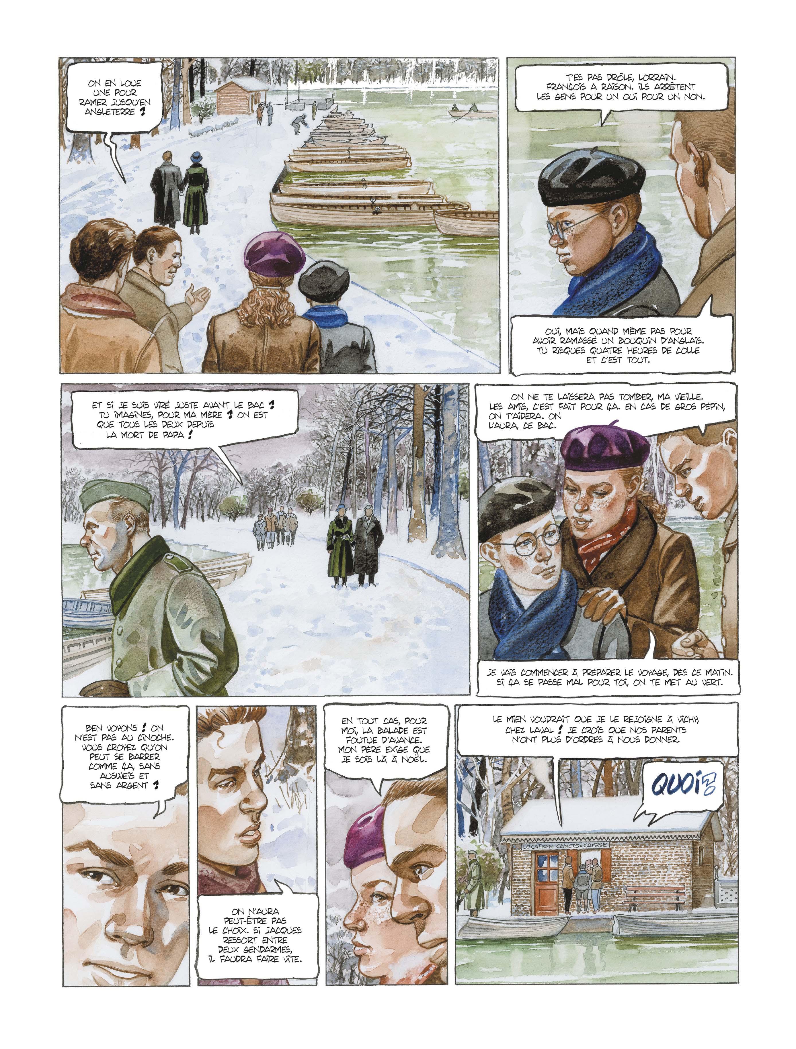 Extrait n°7 de la bd L'école buissonnière par Alain Mounier