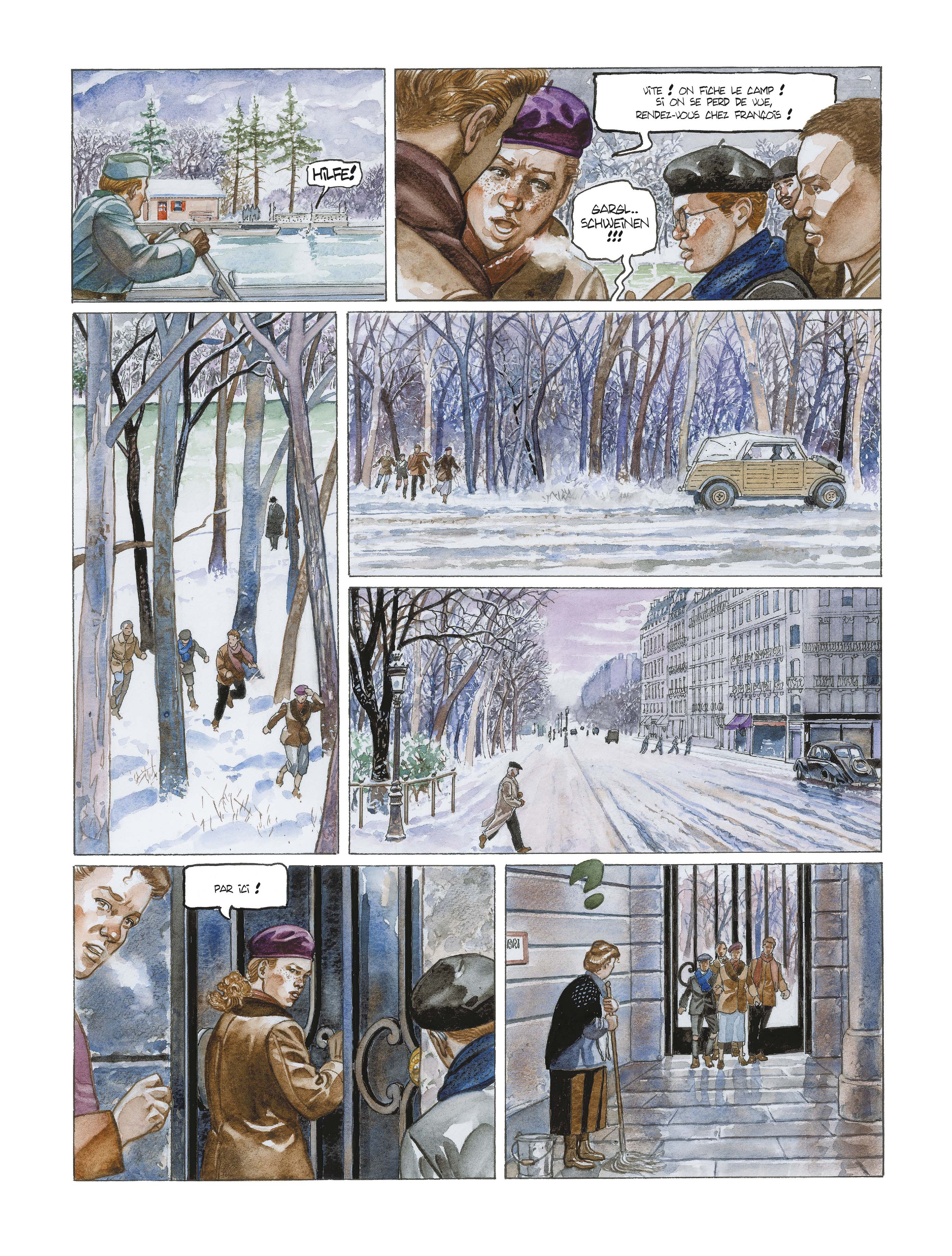 Extrait n°10 de la bd L'école buissonnière par Alain Mounier
