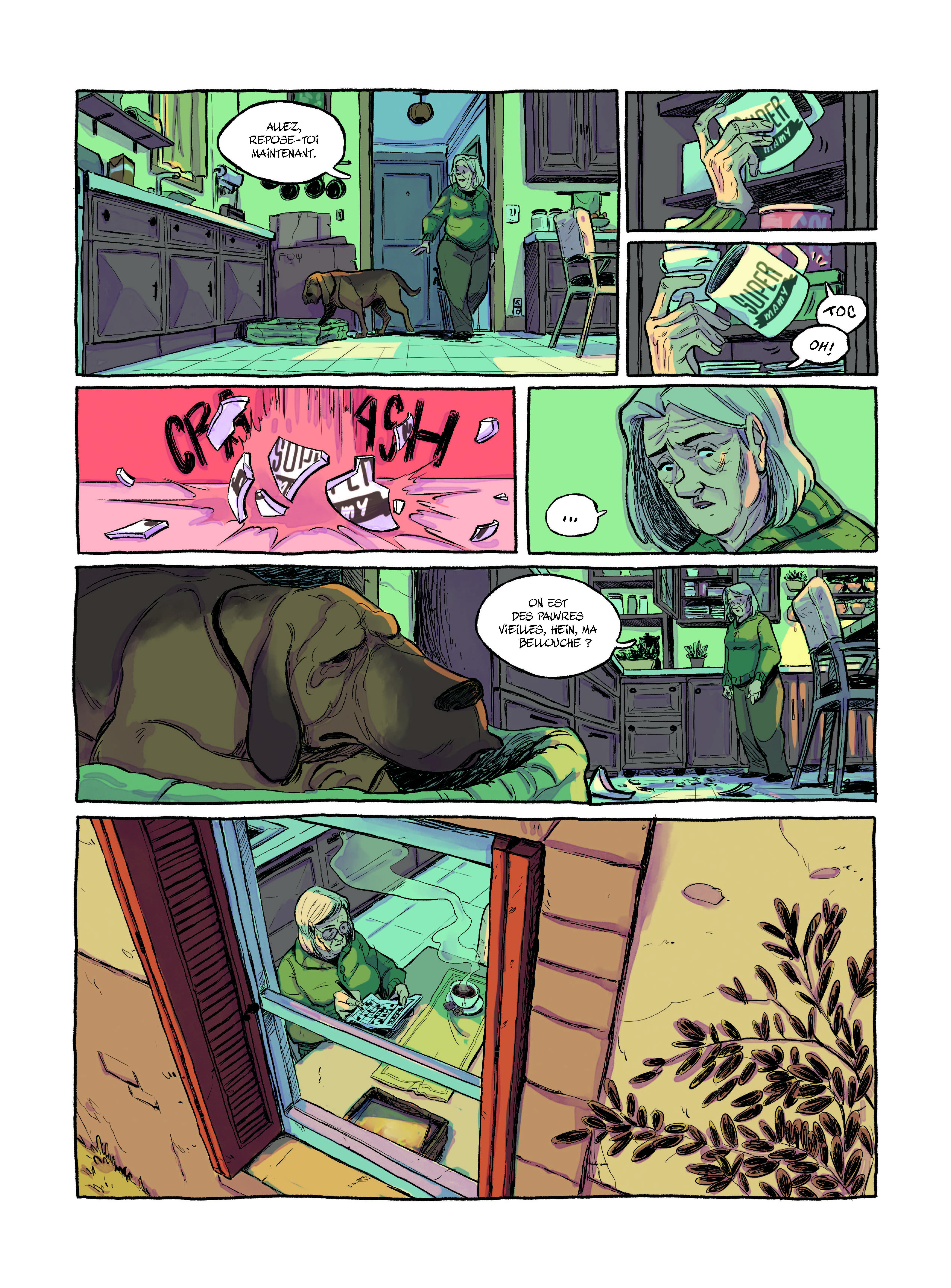 Extrait n°2 Le Plongeon par Victor L Pinel