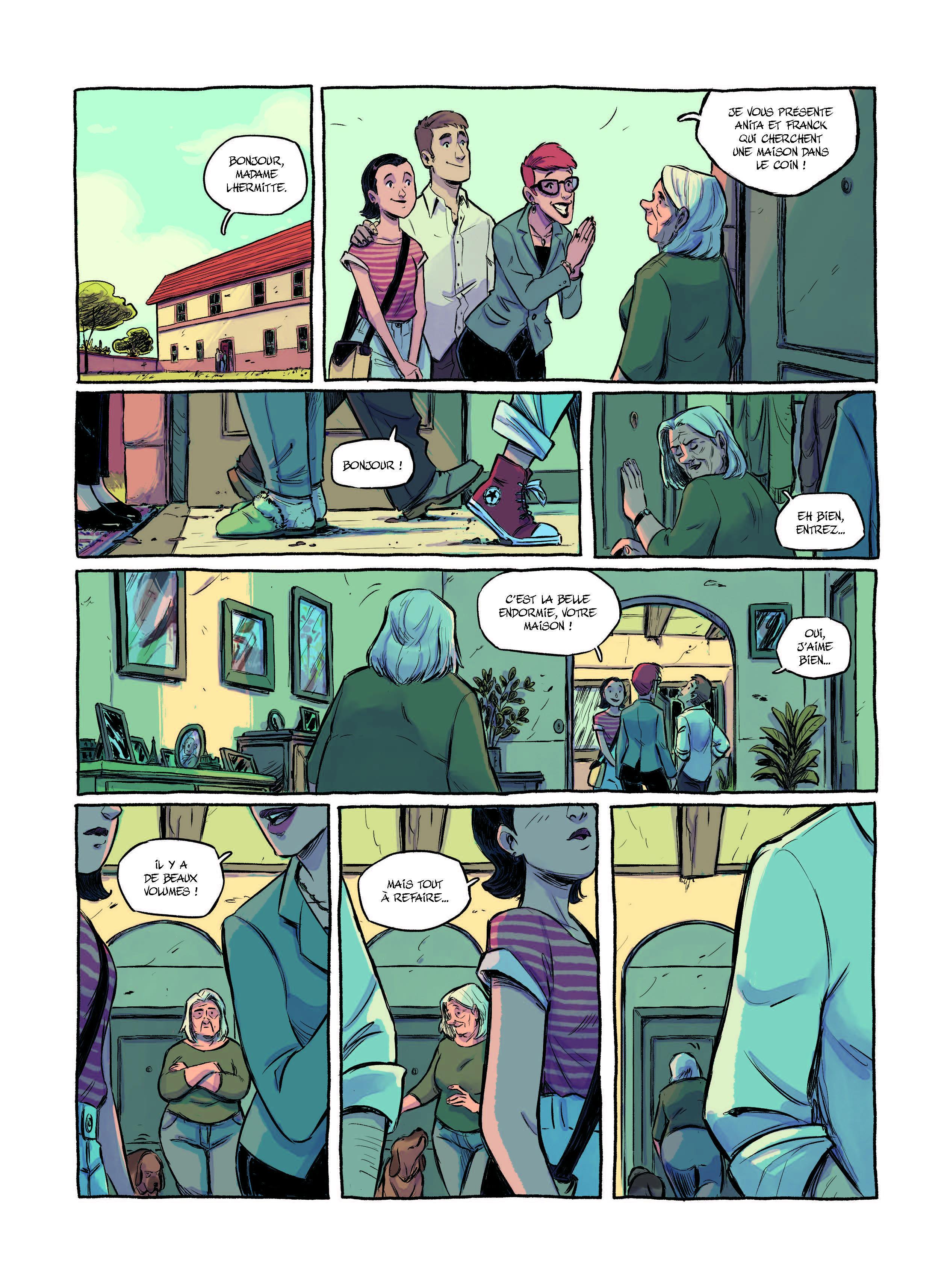 Extrait n°3 Le Plongeon par Victor L Pinel