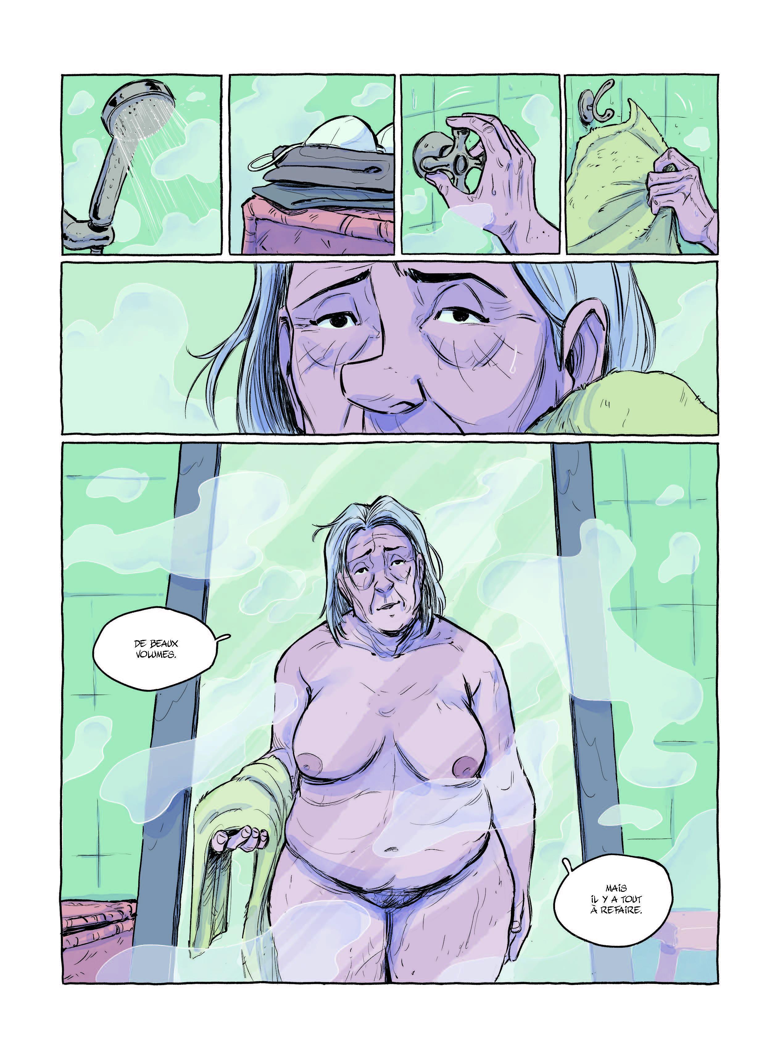 Extrait n°5 Le Plongeon par Victor L Pinel