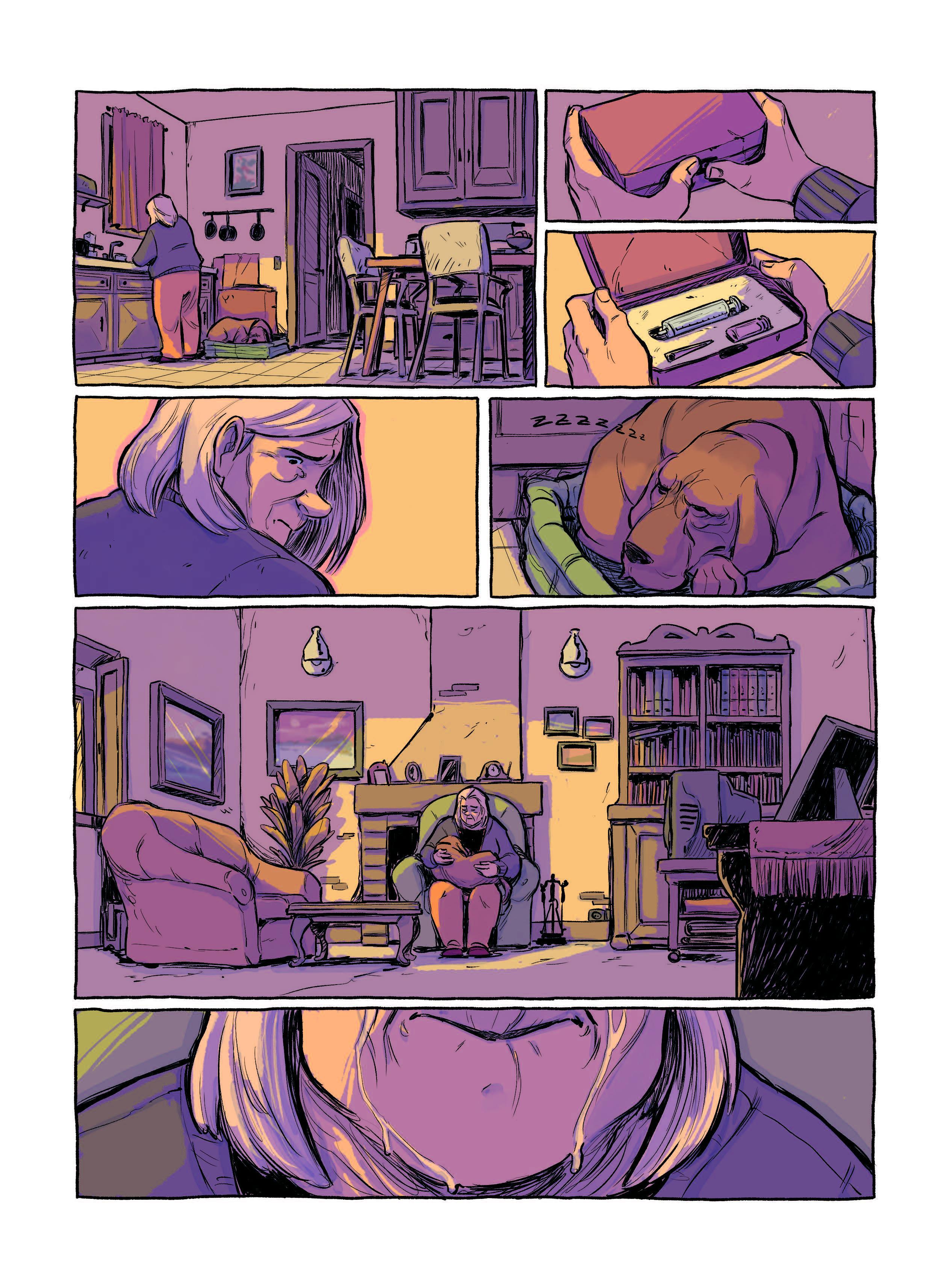 Extrait n°7 Le Plongeon par Victor L Pinel