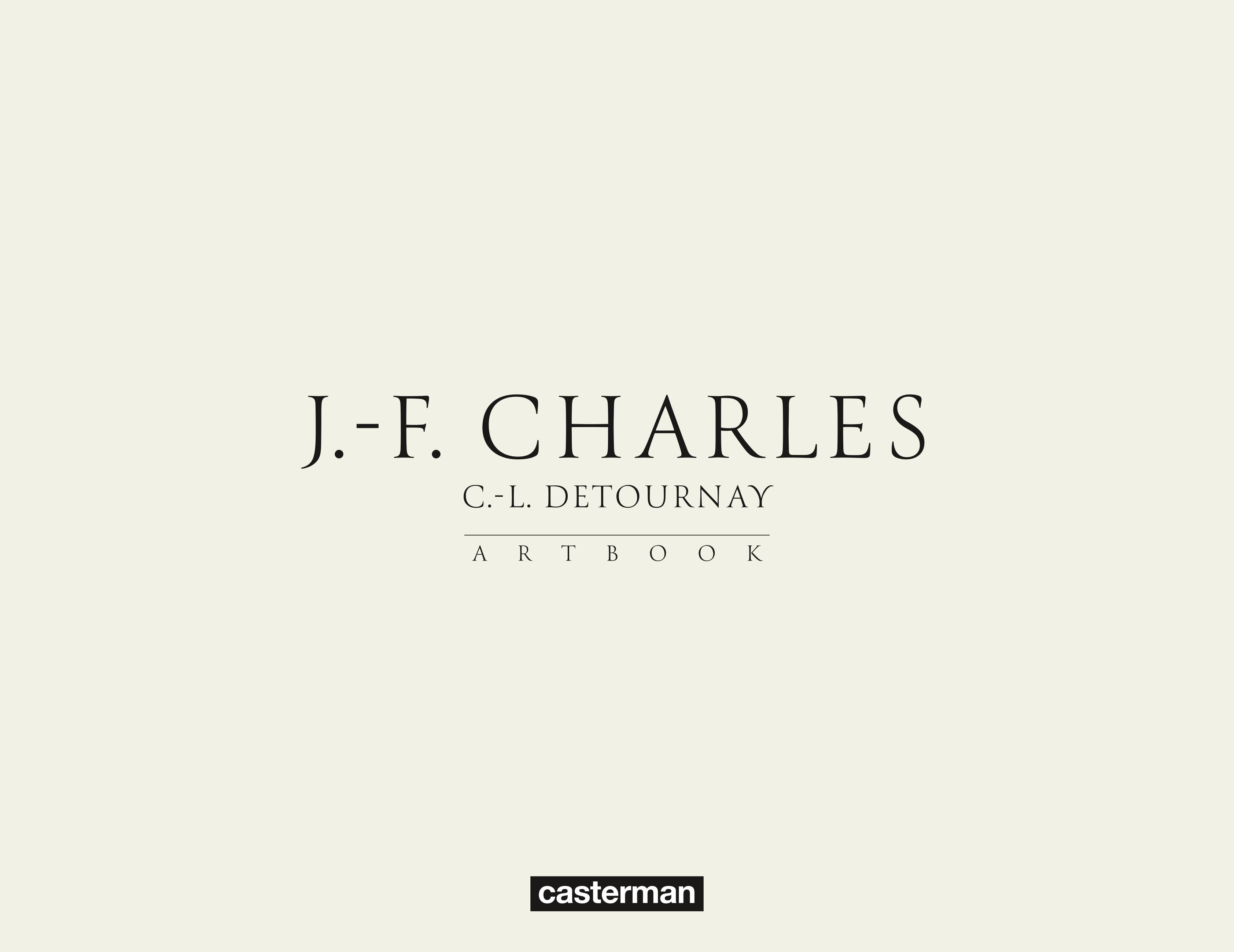Jean-François Charles Artbook