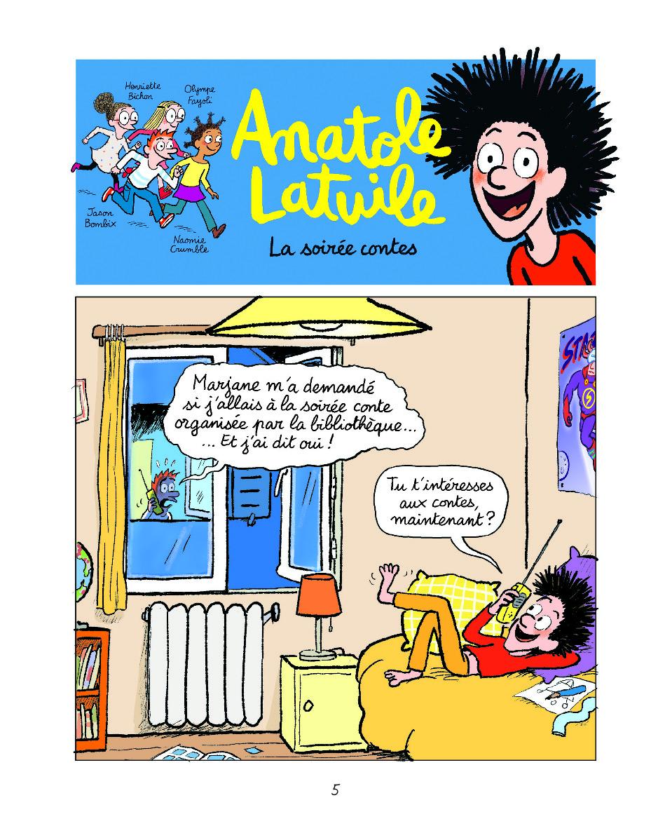 Extrait n°3 de la bd tome 14 par Anne Didier