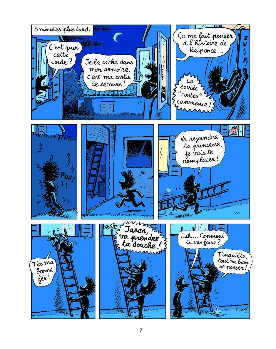 Extrait n°4 de la bd tome 14 par Anne Didier