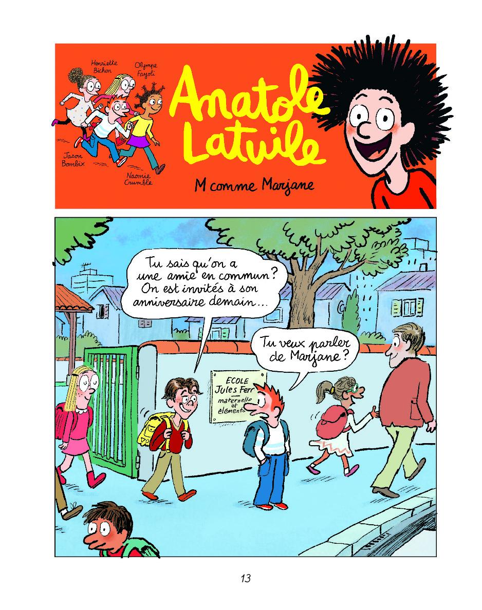 Extrait n°9 de la bd tome 14 par Anne Didier