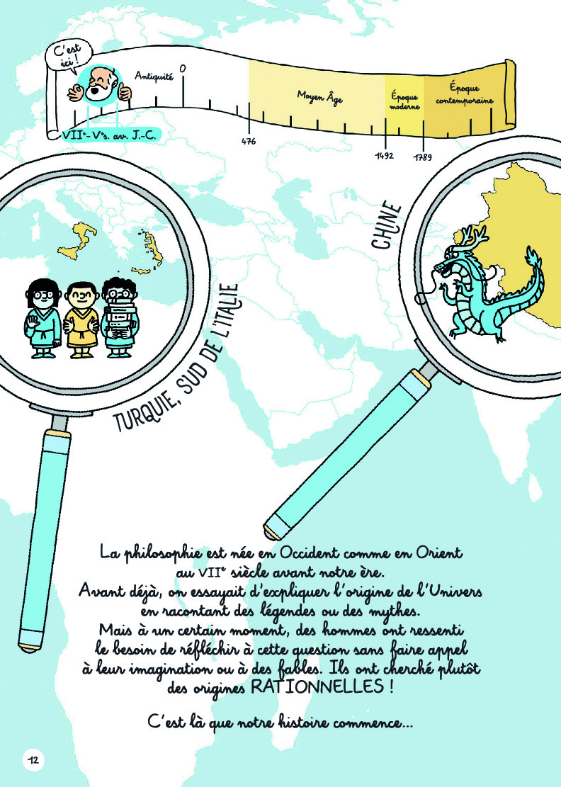 Extrait n°3 Les vrais sages sont des rebelles par Chiara Pastorini