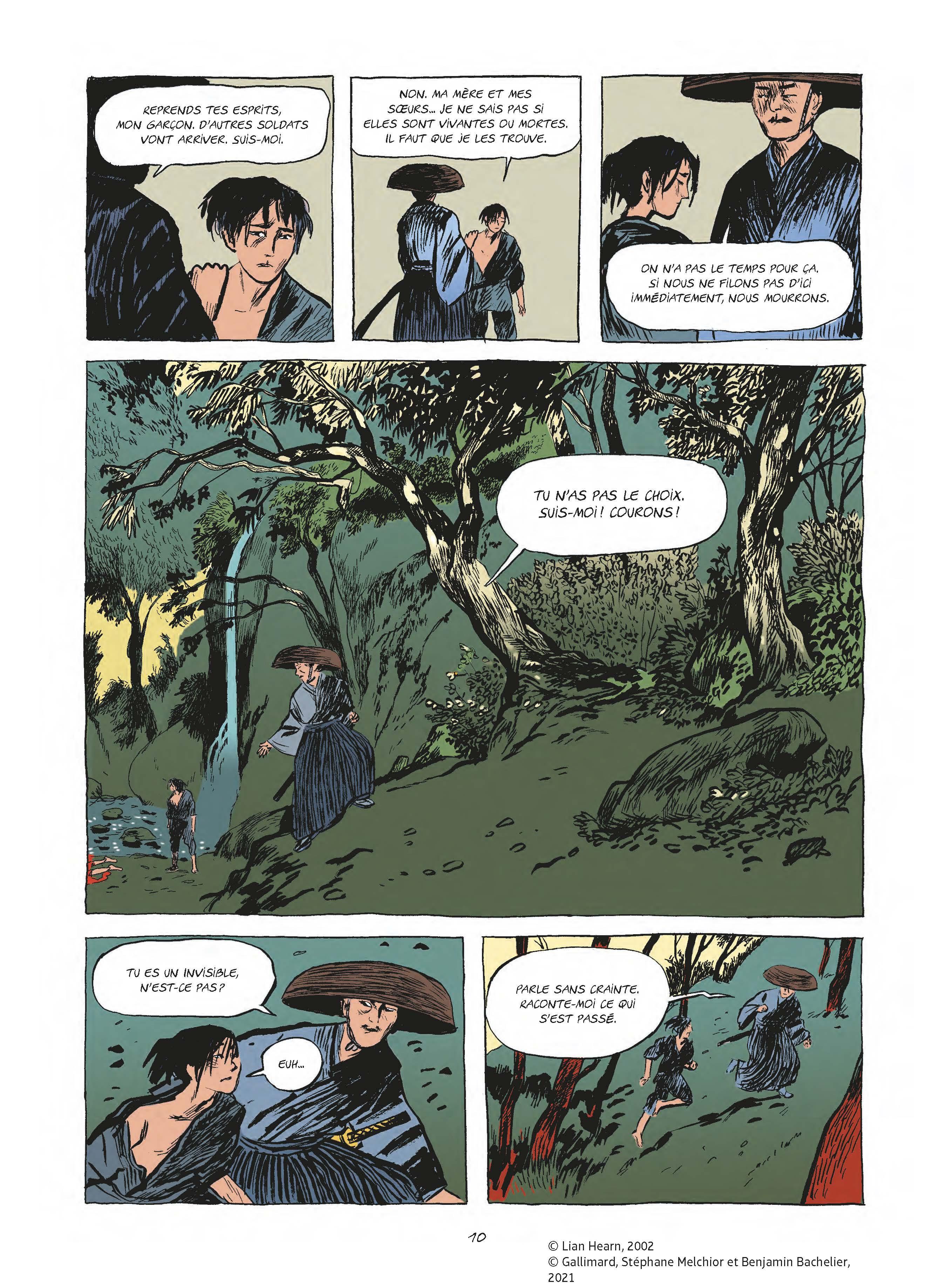 Extrait n°6 tome 1 par Benjamin Bachelier