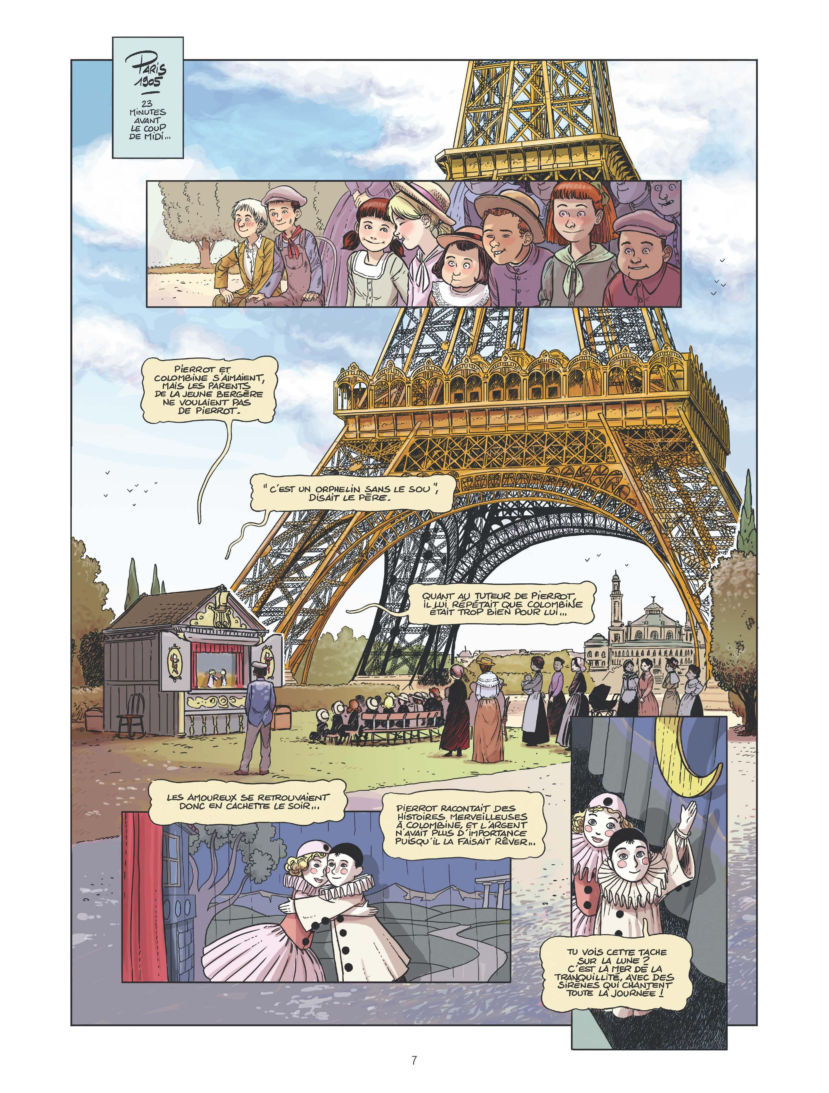Le canonnier de la Tour Eiffel