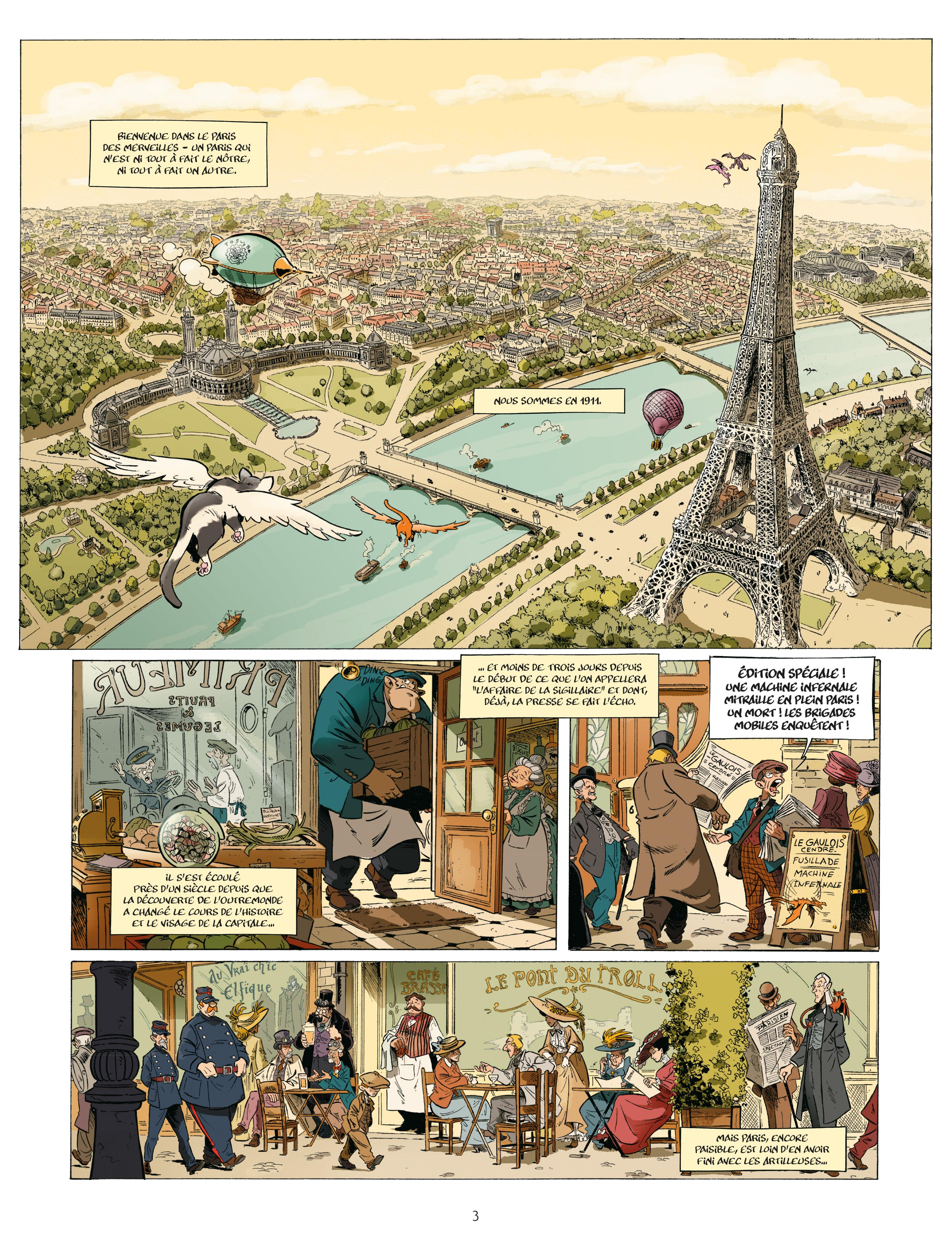 Extrait n°1 de la bd tome 2 par Étienne Willem