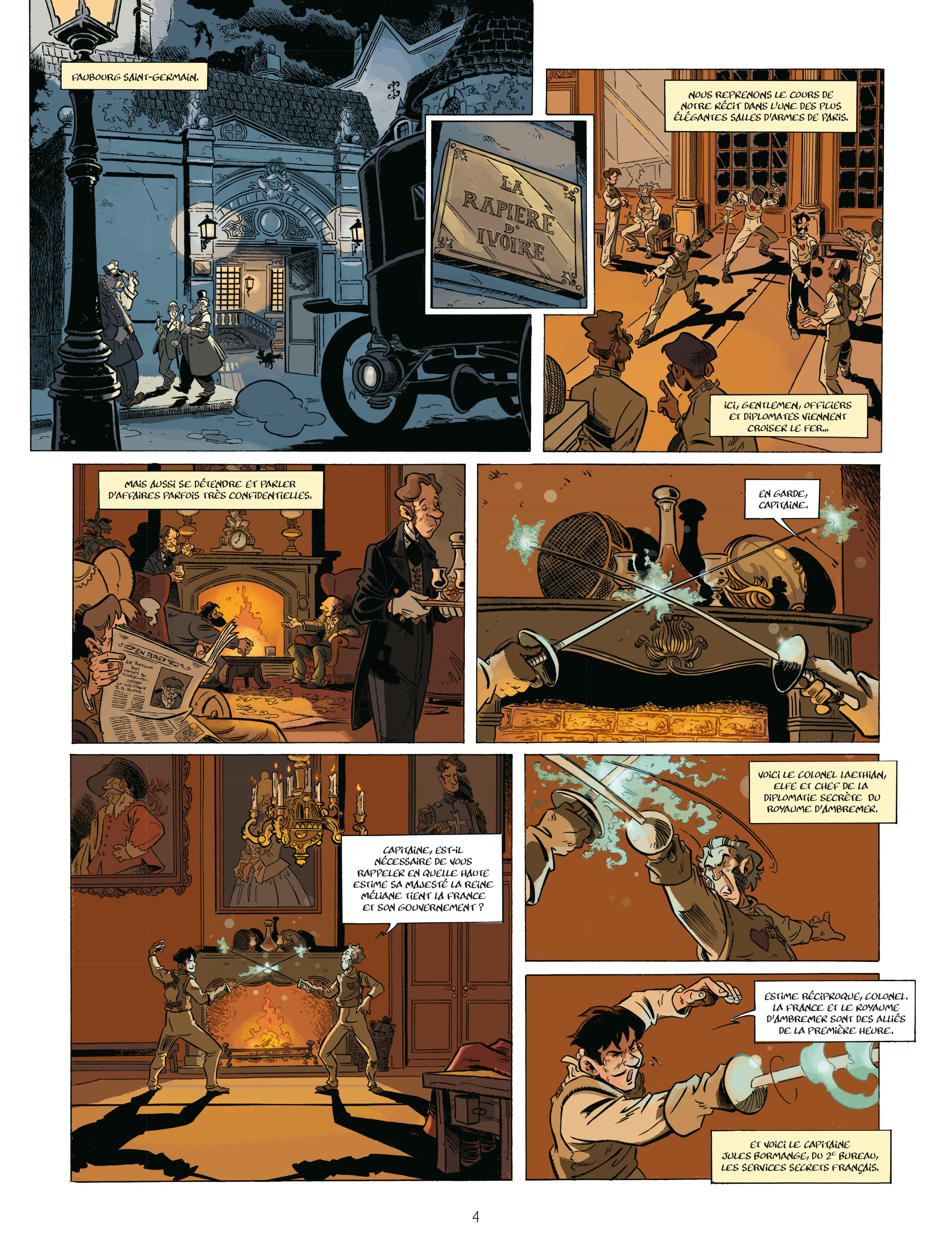 Extrait n°2 de la bd tome 2 par Étienne Willem