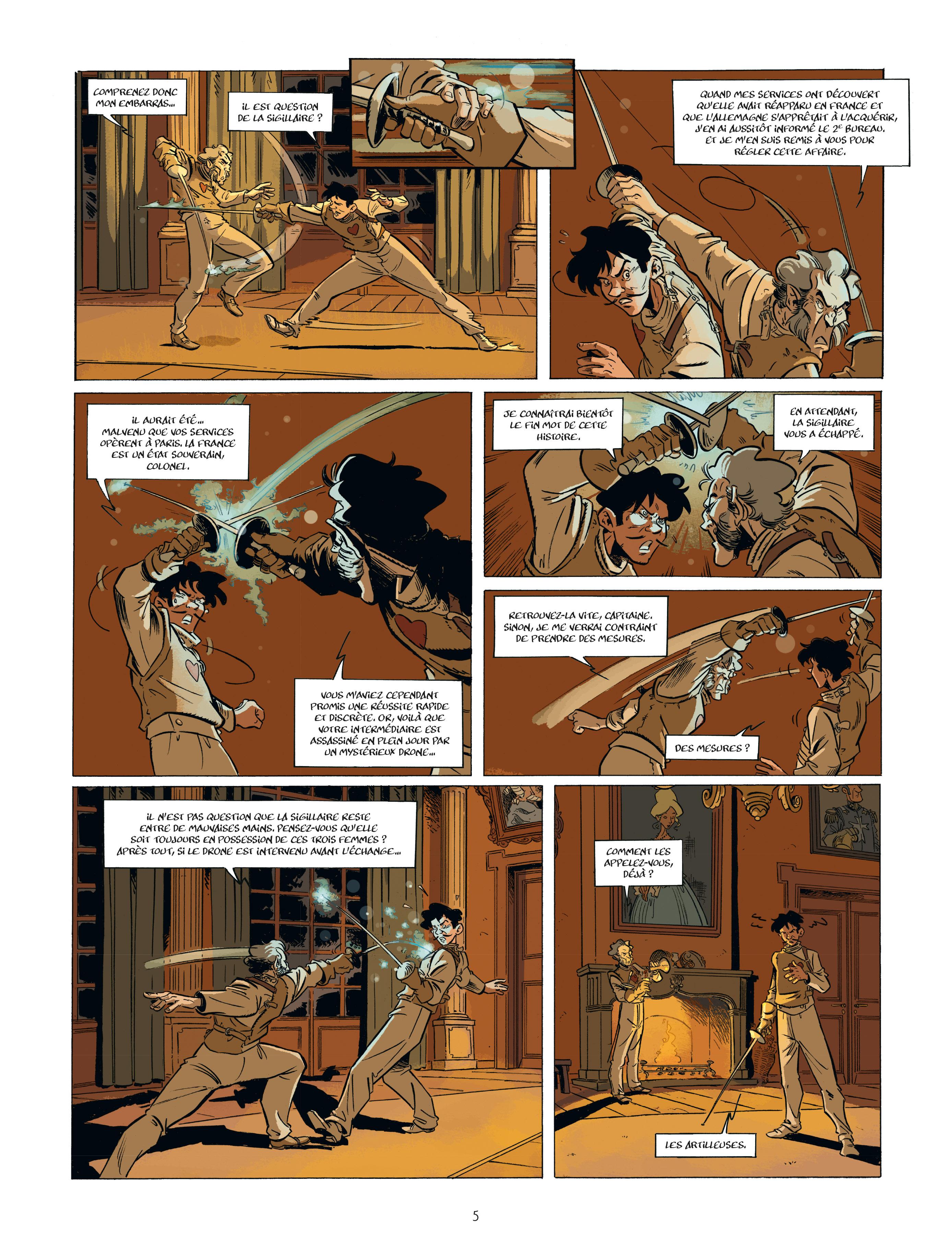 Extrait n°3 de la bd tome 2 par Étienne Willem