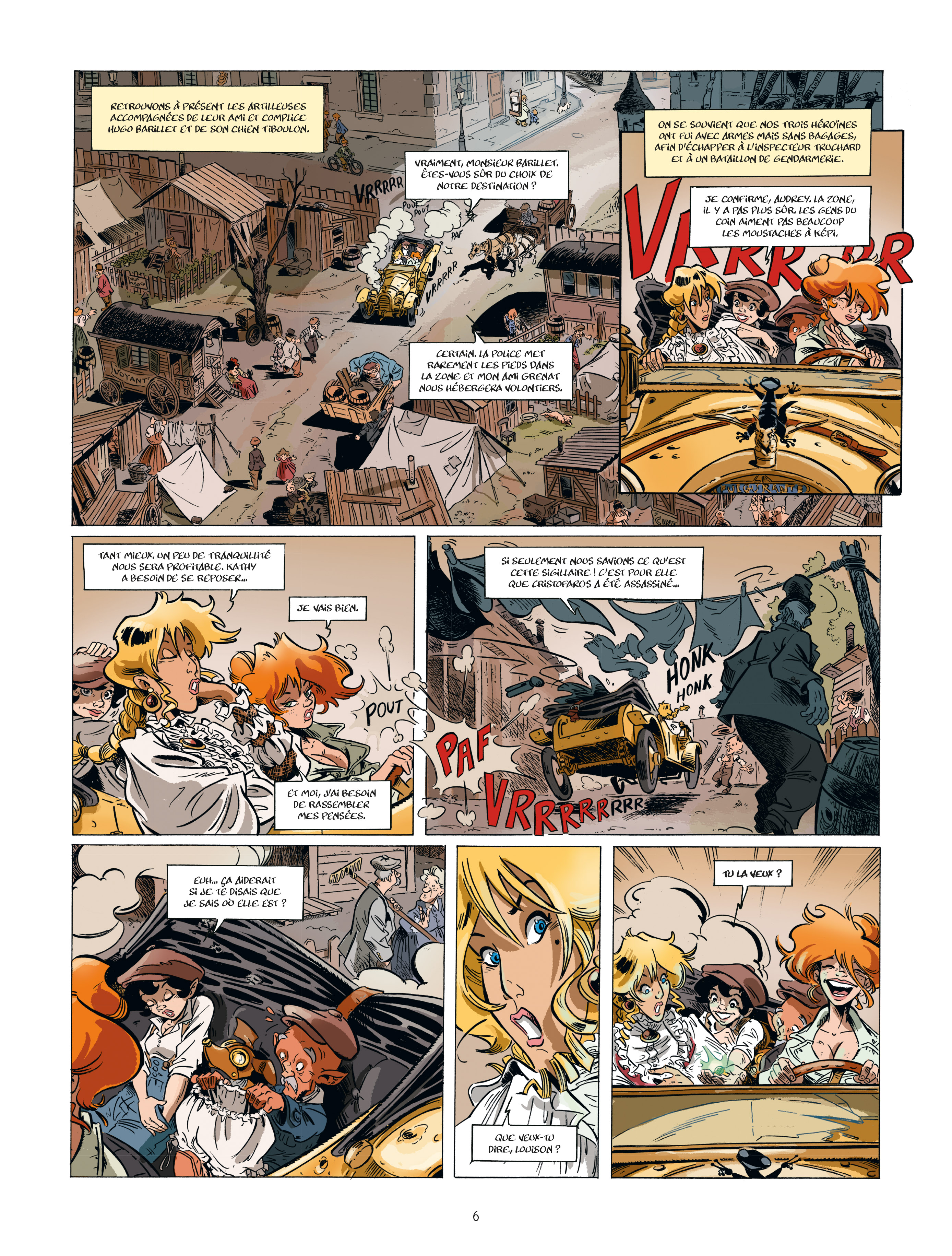 Extrait n°4 de la bd tome 2 par Étienne Willem