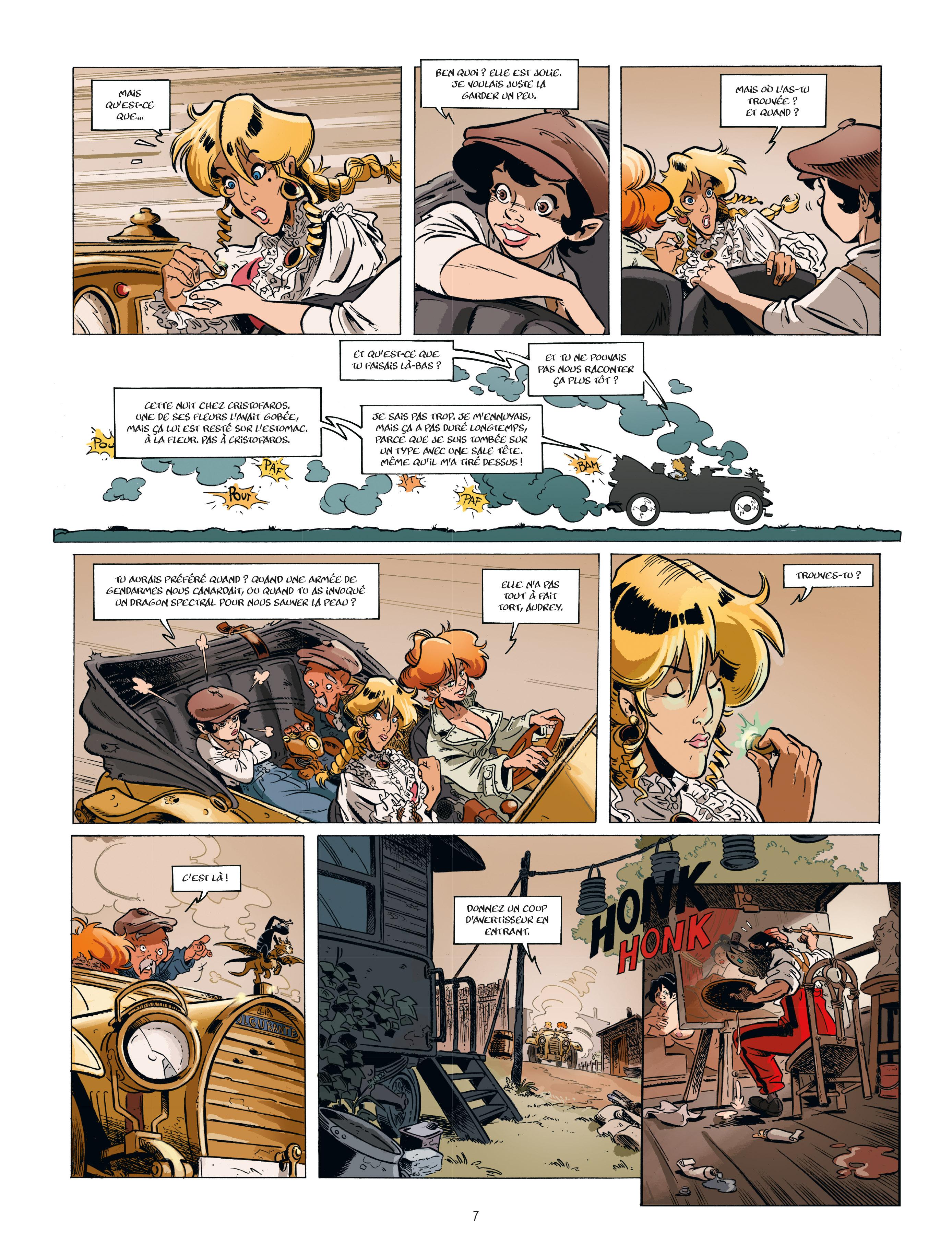 Extrait n°5 de la bd tome 2 par Étienne Willem