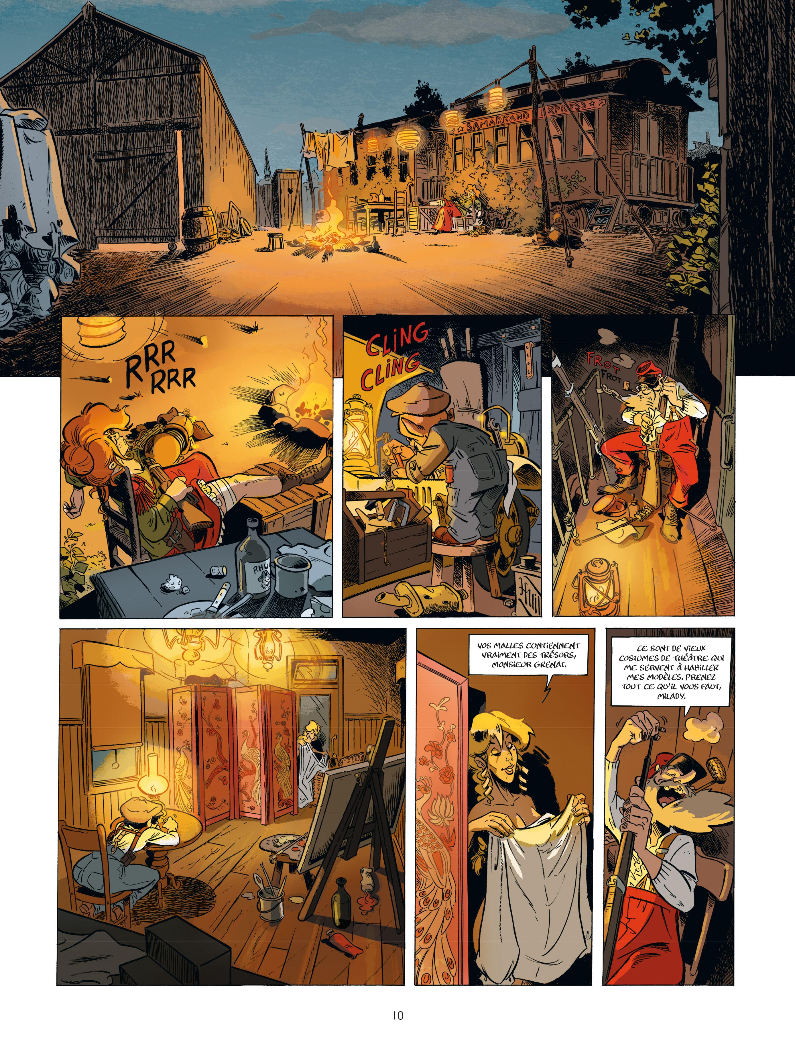 Extrait n°8 de la bd tome 2 par Étienne Willem
