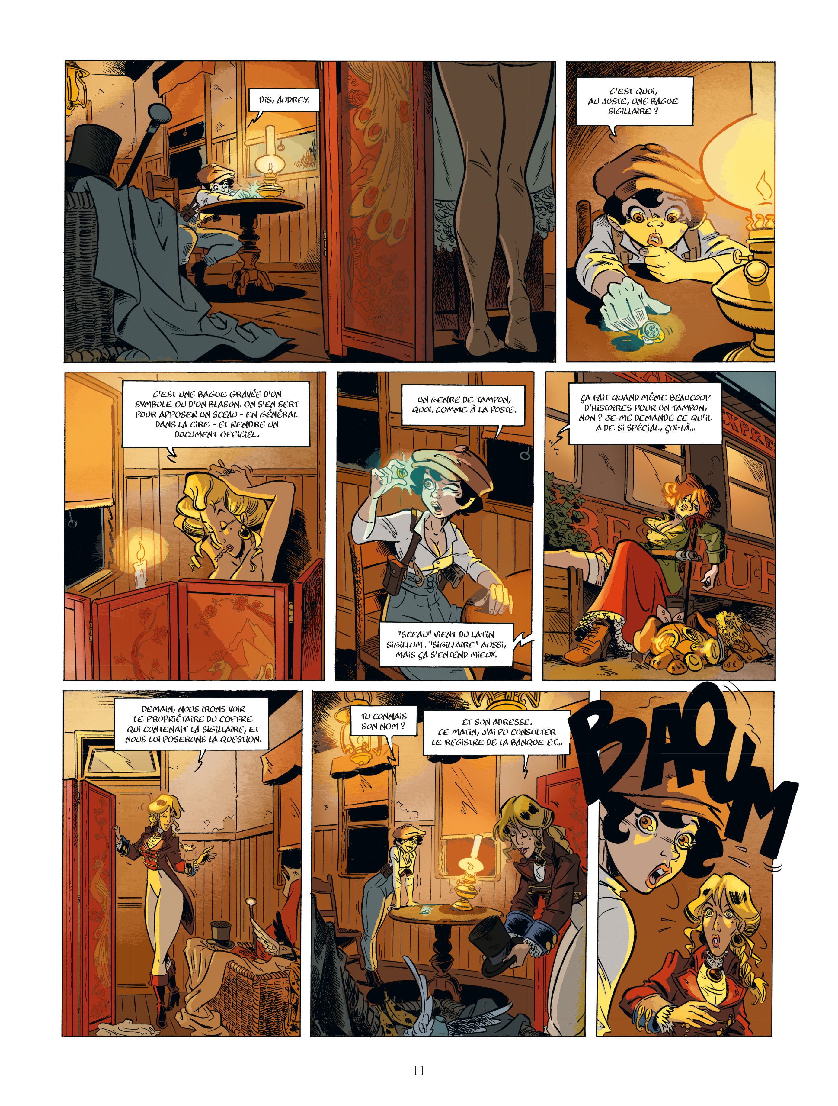 Extrait n°9 de la bd tome 2 par Étienne Willem