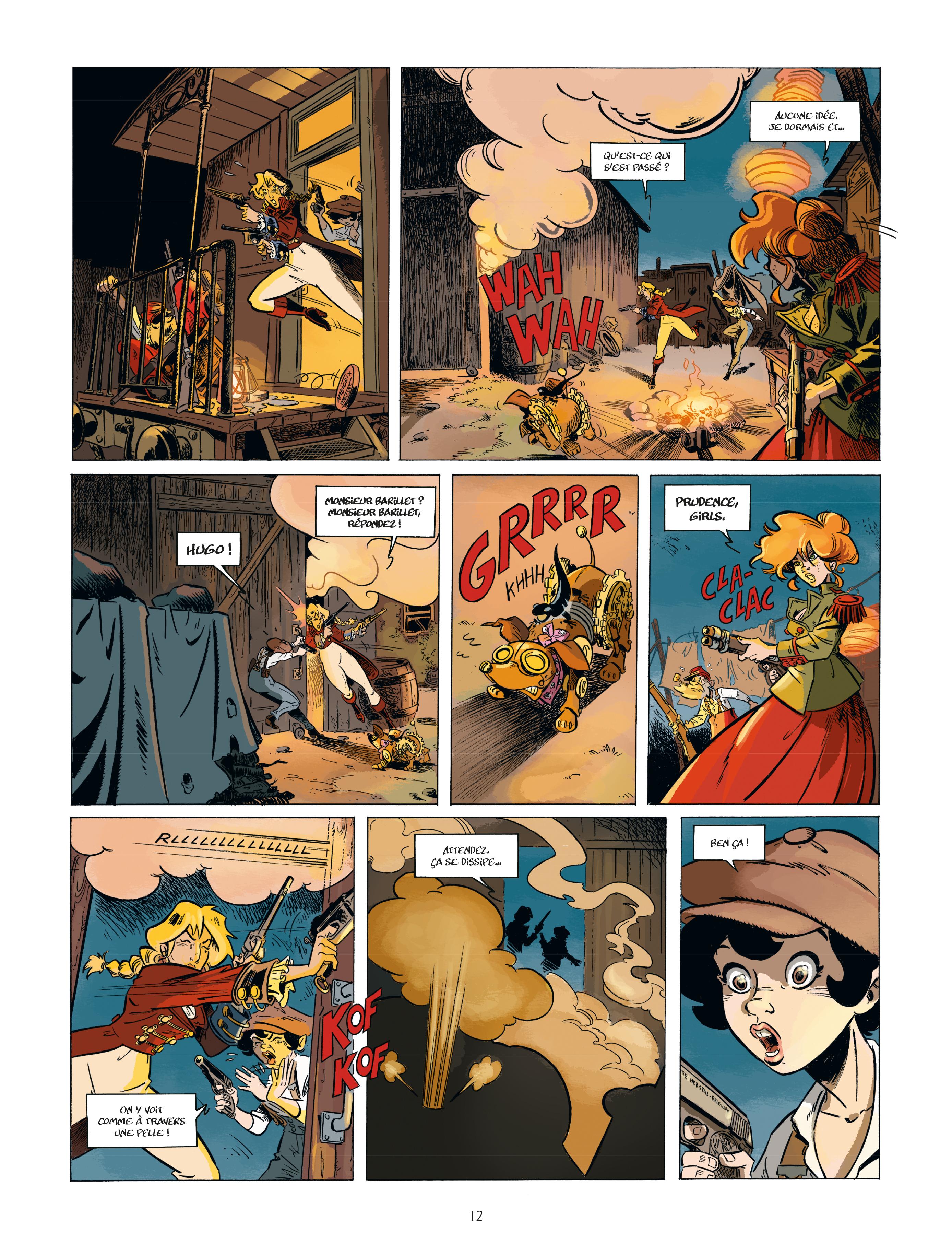 Extrait n°10 de la bd tome 2 par Étienne Willem