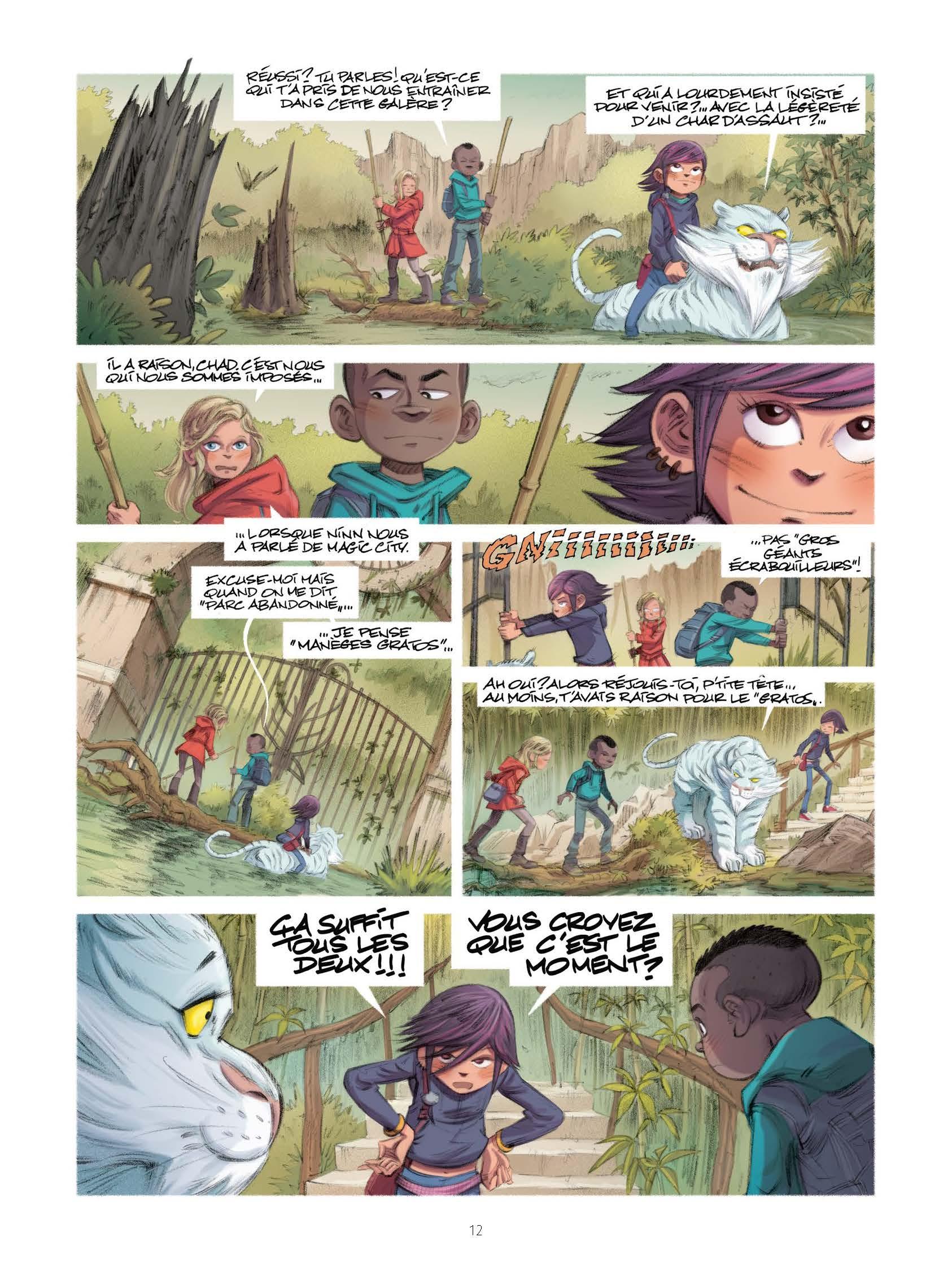 Extrait n°6 de la bd tome 5 par Jean-Michel Darlot