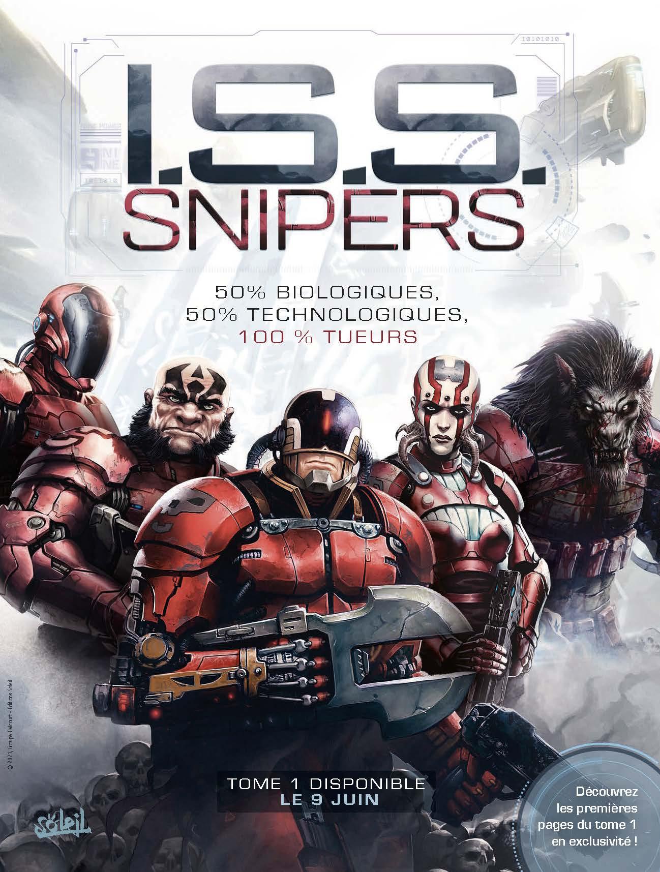I.S.S. Snipers - T.1 Reid Eckart