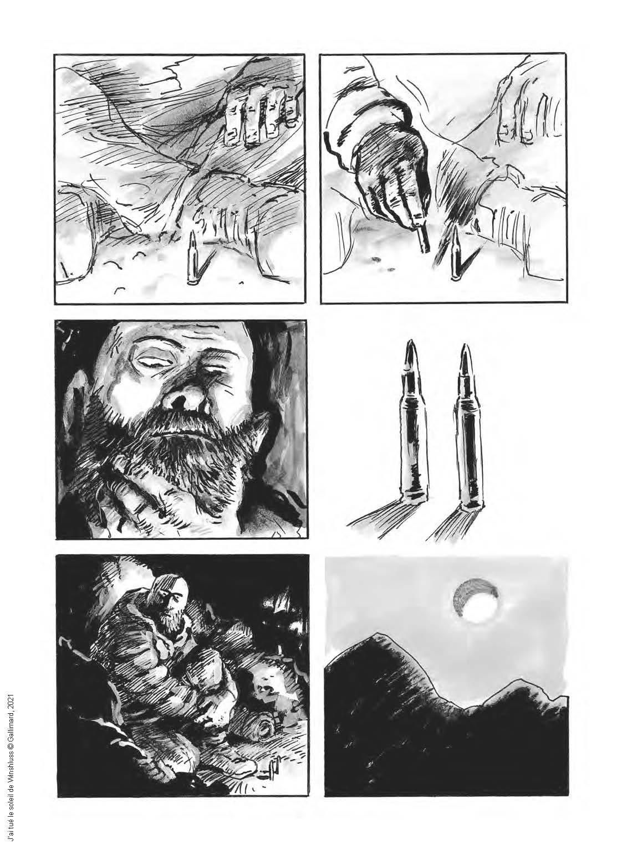 Extrait n°5 J'ai tué le soleil par Winshluss
