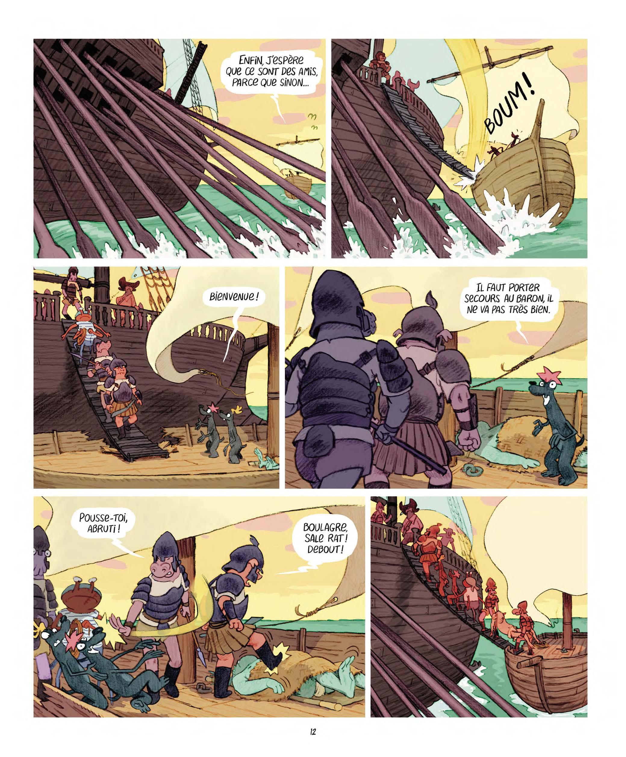 Extrait n°4 Les Affamés 2 - Hum et Wouaf et la triste mine  - Le retour d'hum et wouaf dans les mines de mignon par Jean-Emmanuel Vermot-Desroches