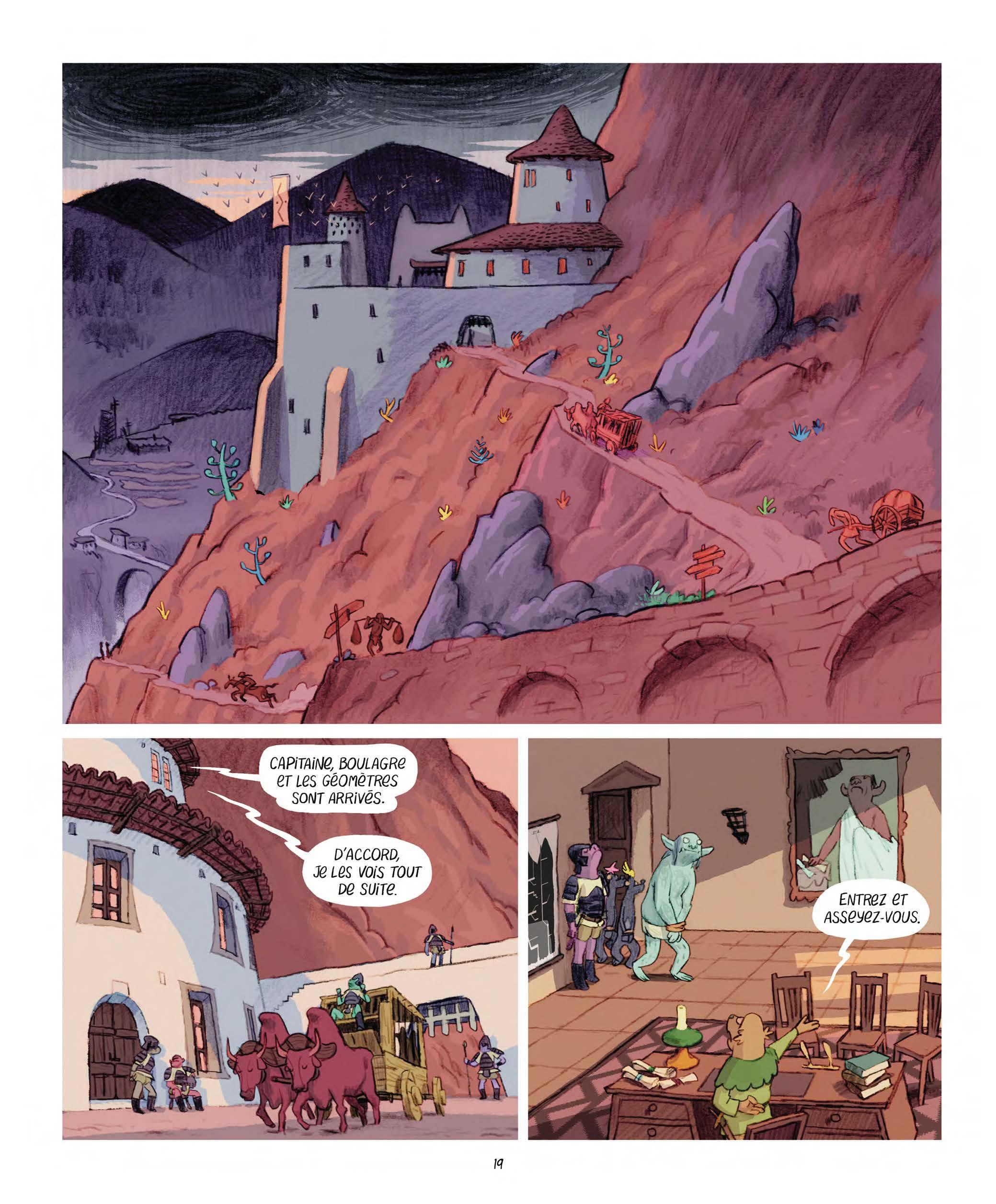 Extrait n°11 Les Affamés 2 - Hum et Wouaf et la triste mine  - Le retour d'hum et wouaf dans les mines de mignon par Jean-Emmanuel Vermot-Desroches