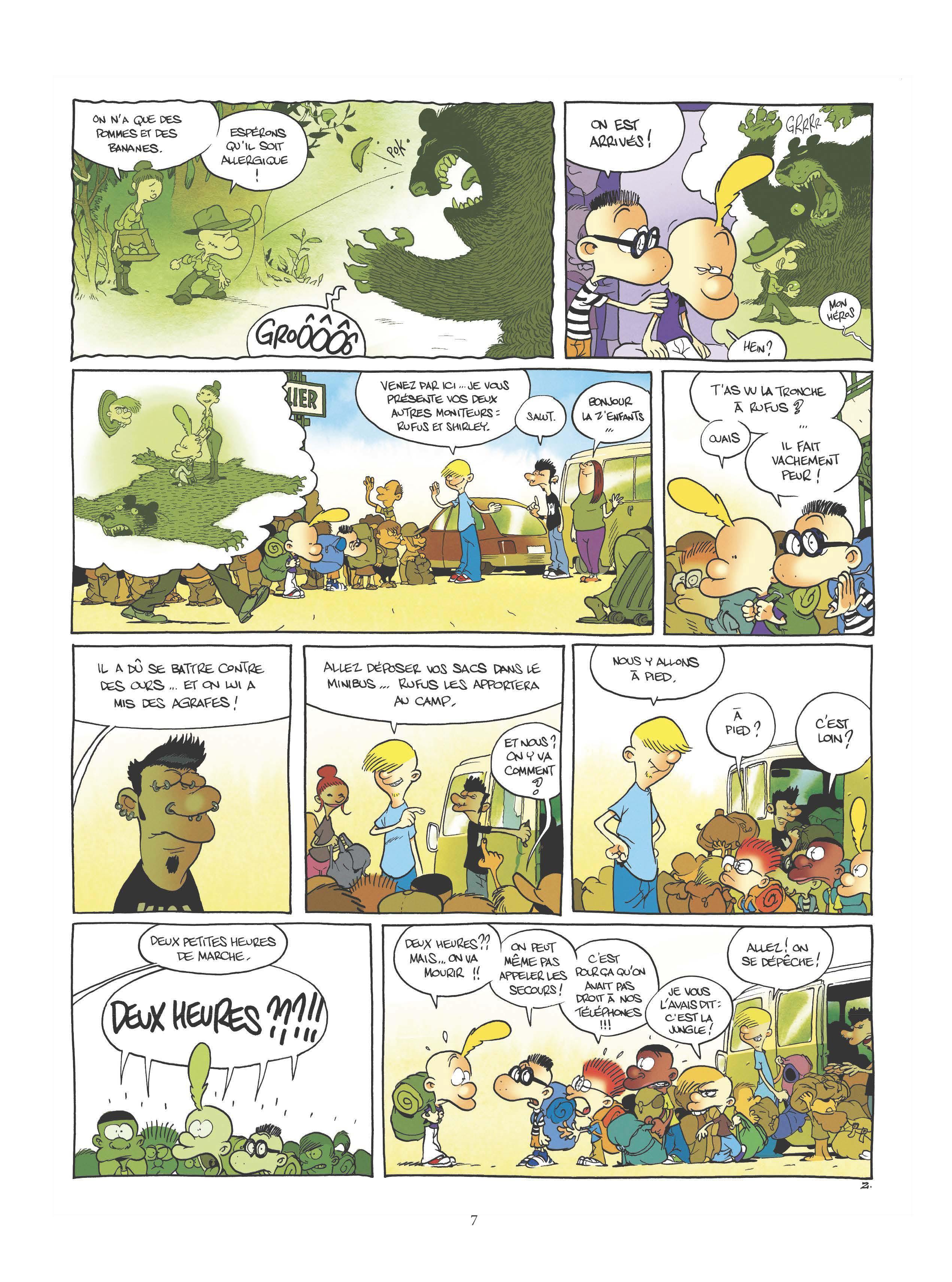 Extrait n°5 de la bd tome 17 par Zep