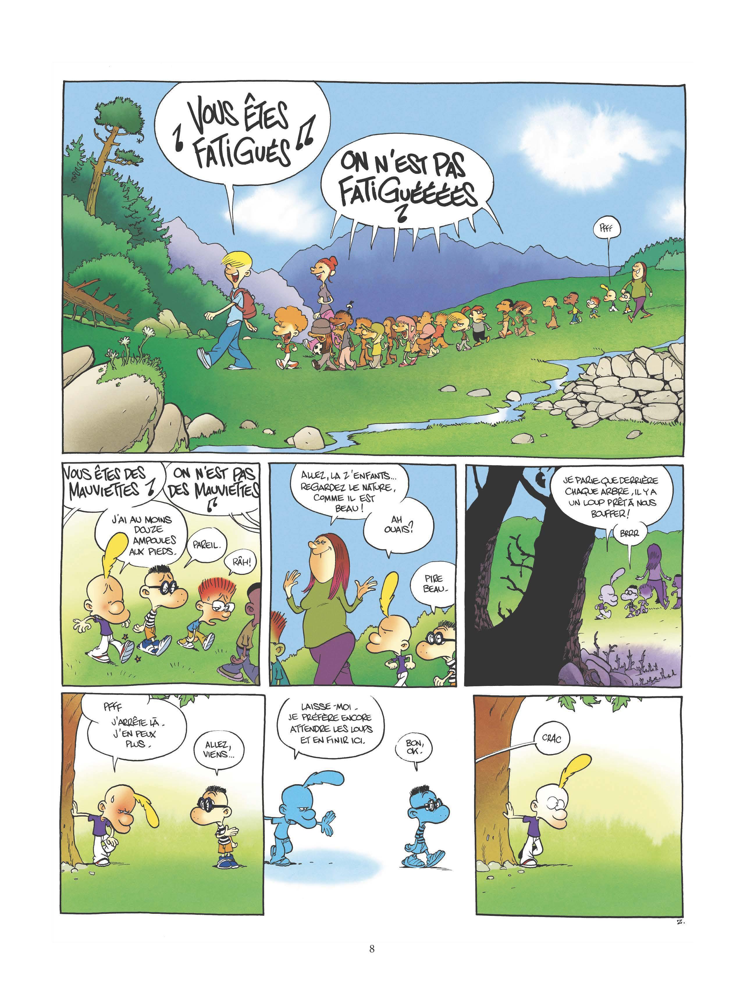 Extrait n°6 de la bd tome 17 par Zep