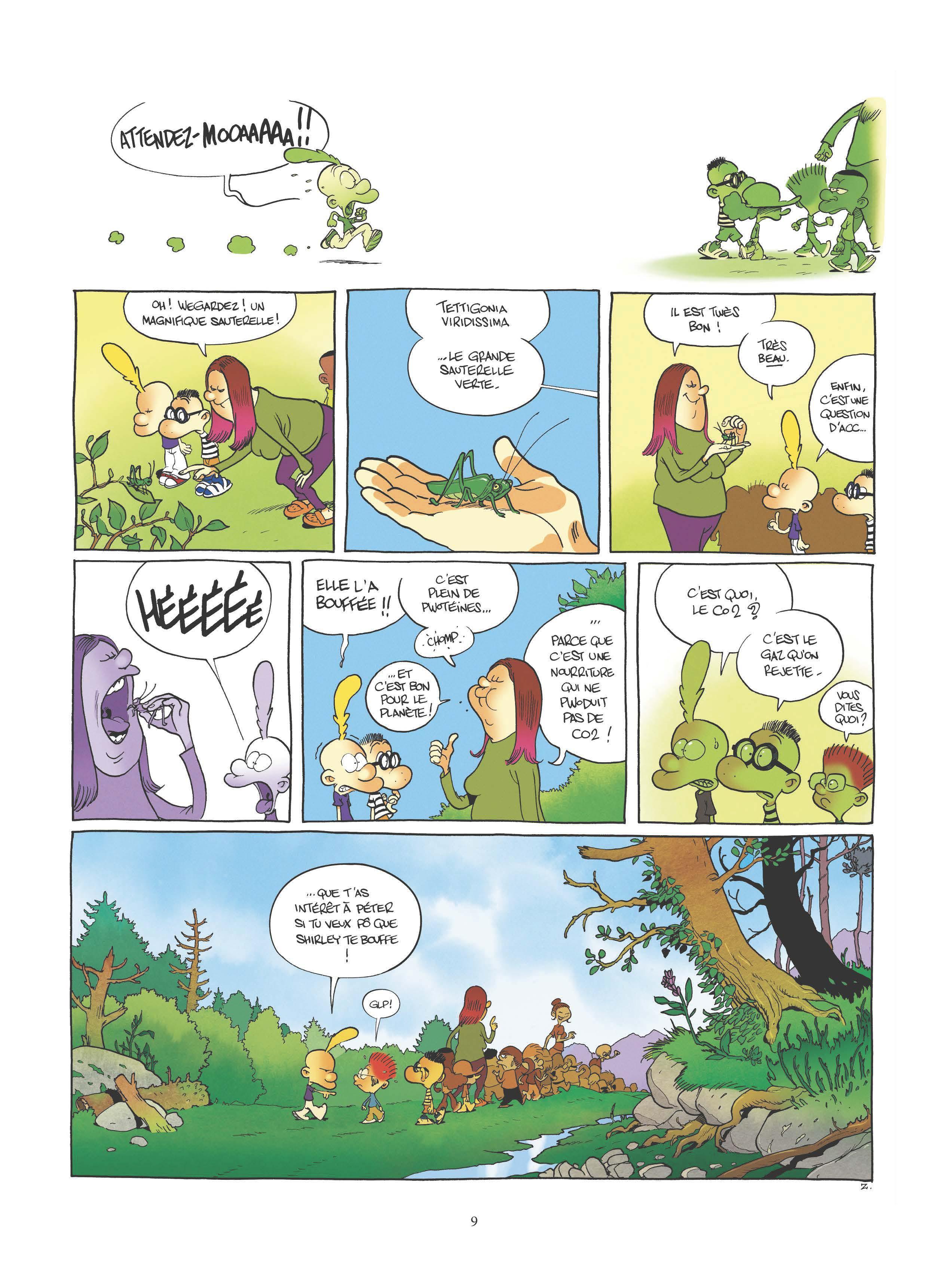 Extrait n°7 de la bd tome 17 par Zep