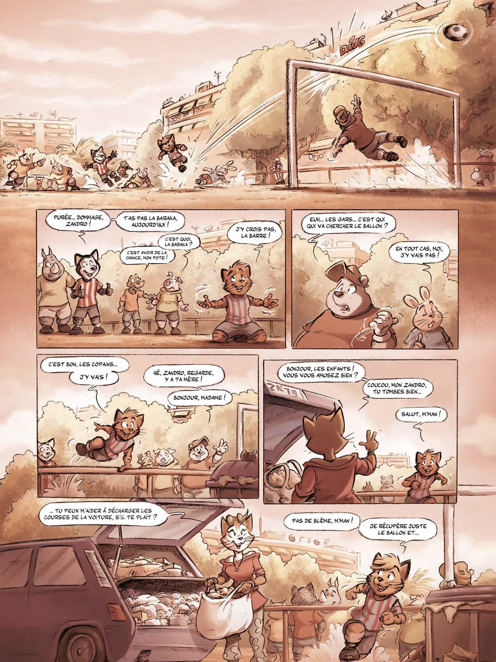 Extrait n°2 tome 3 par Aré