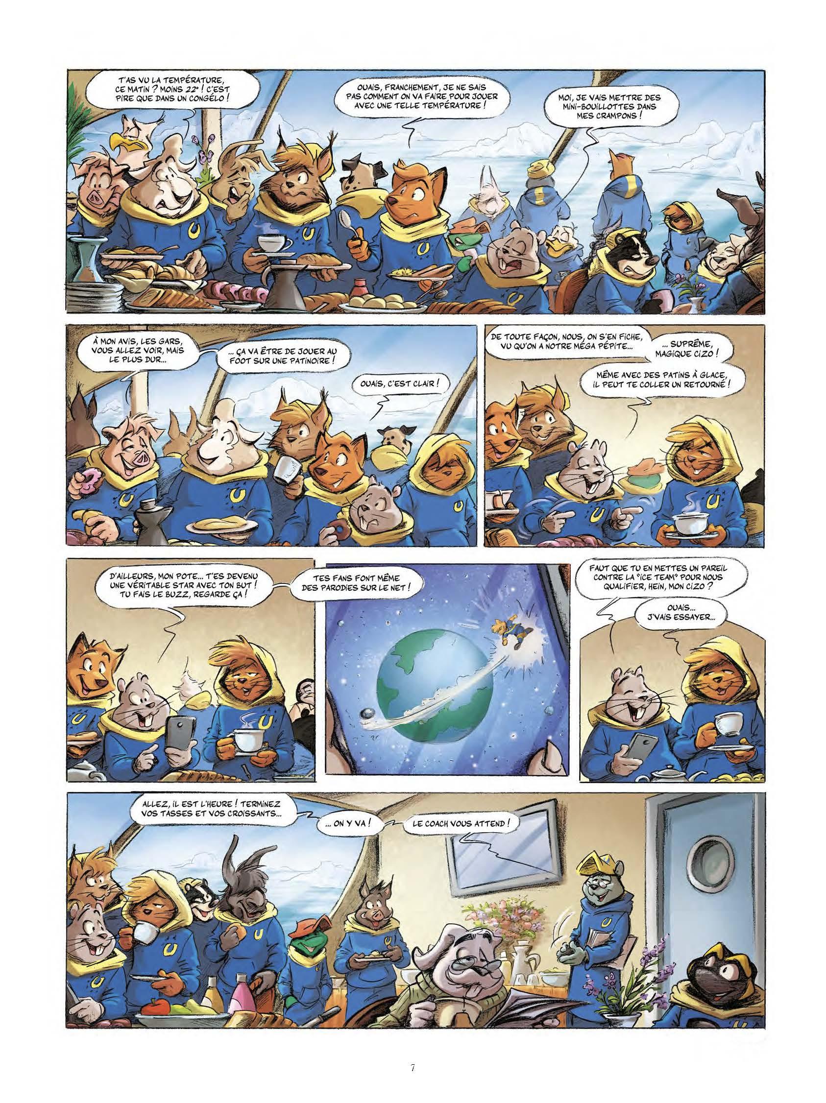 Extrait n°5 tome 3 par Aré