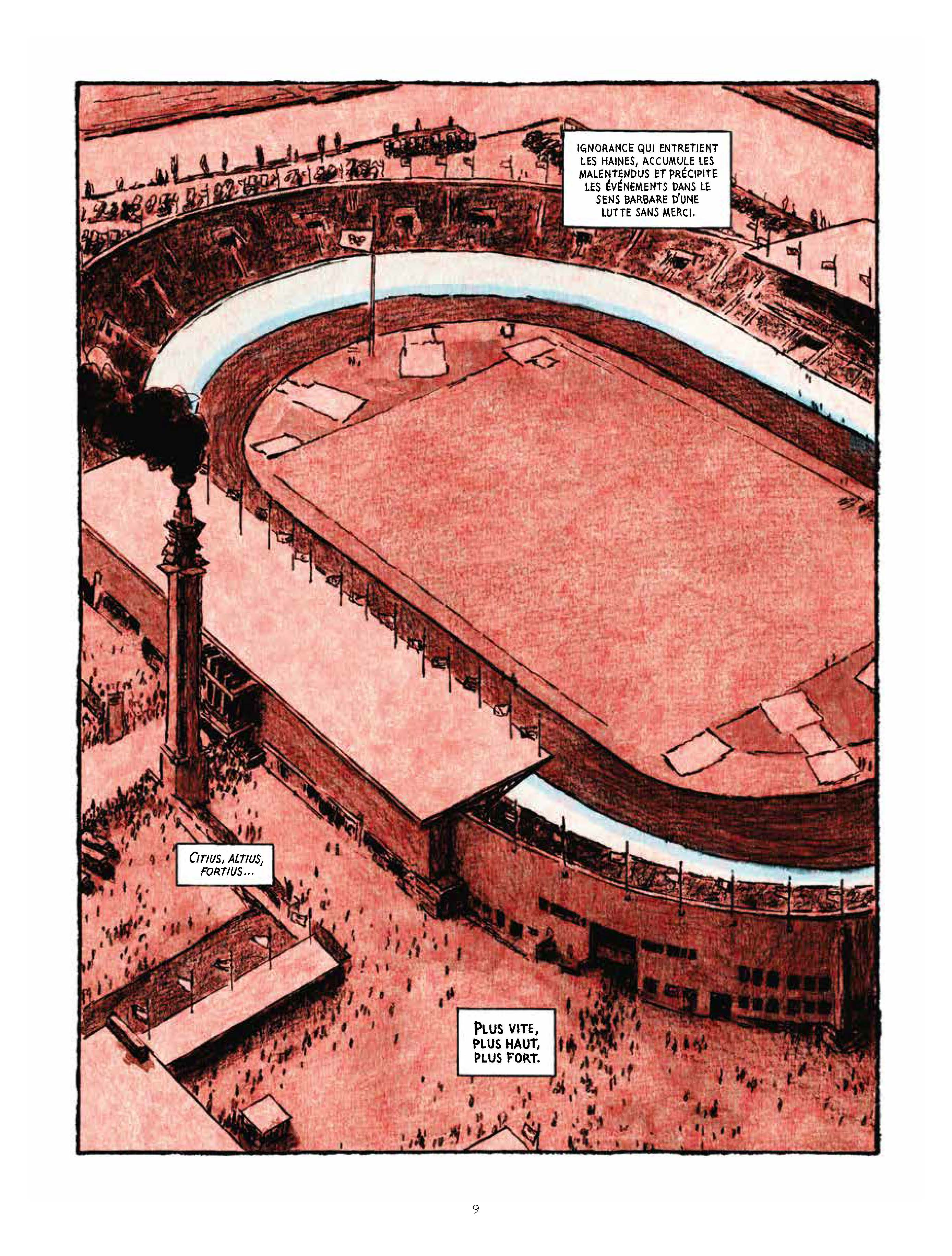 Extrait n°5 de la bd Marathon par Nicolas Debon