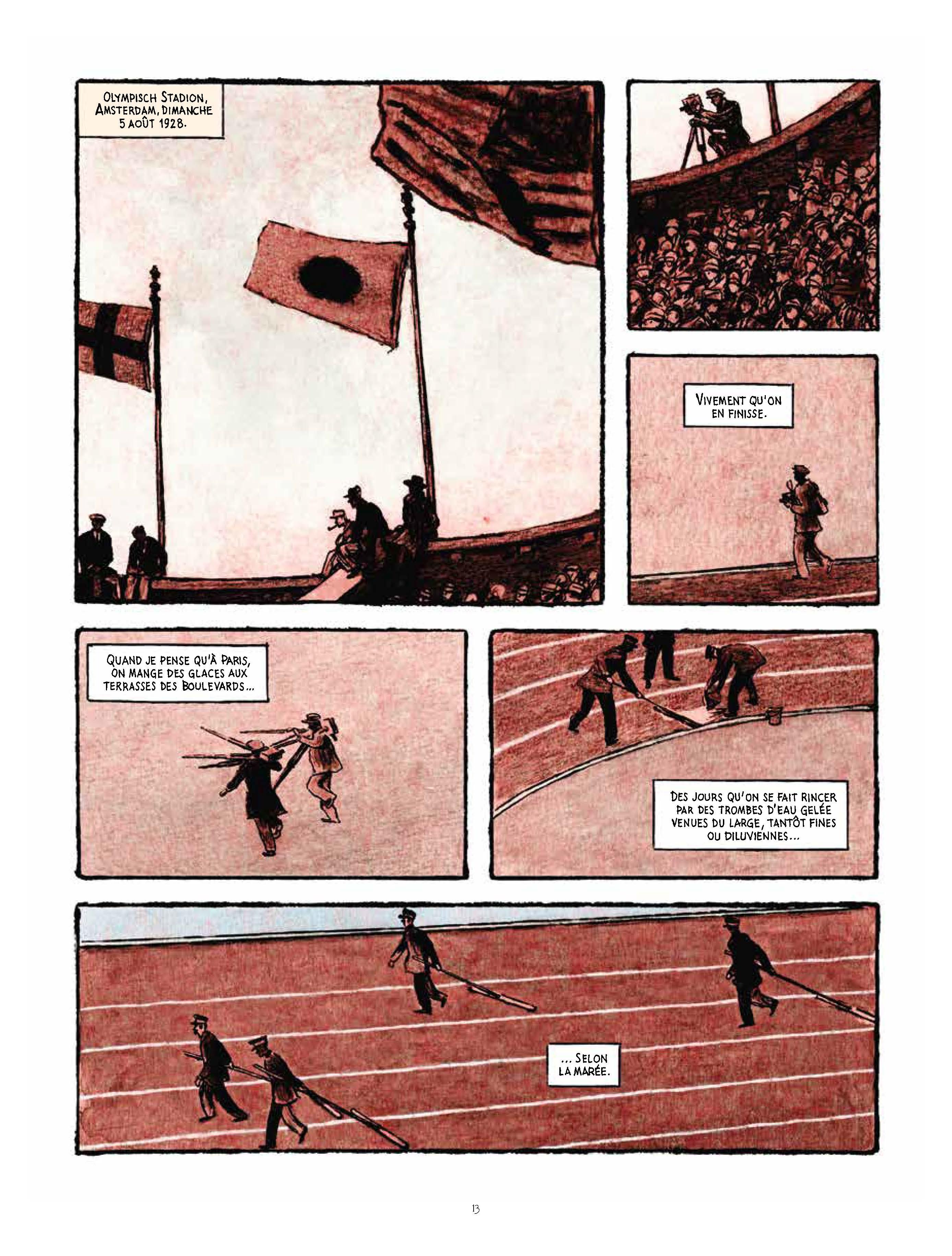 Extrait n°9 de la bd Marathon par Nicolas Debon
