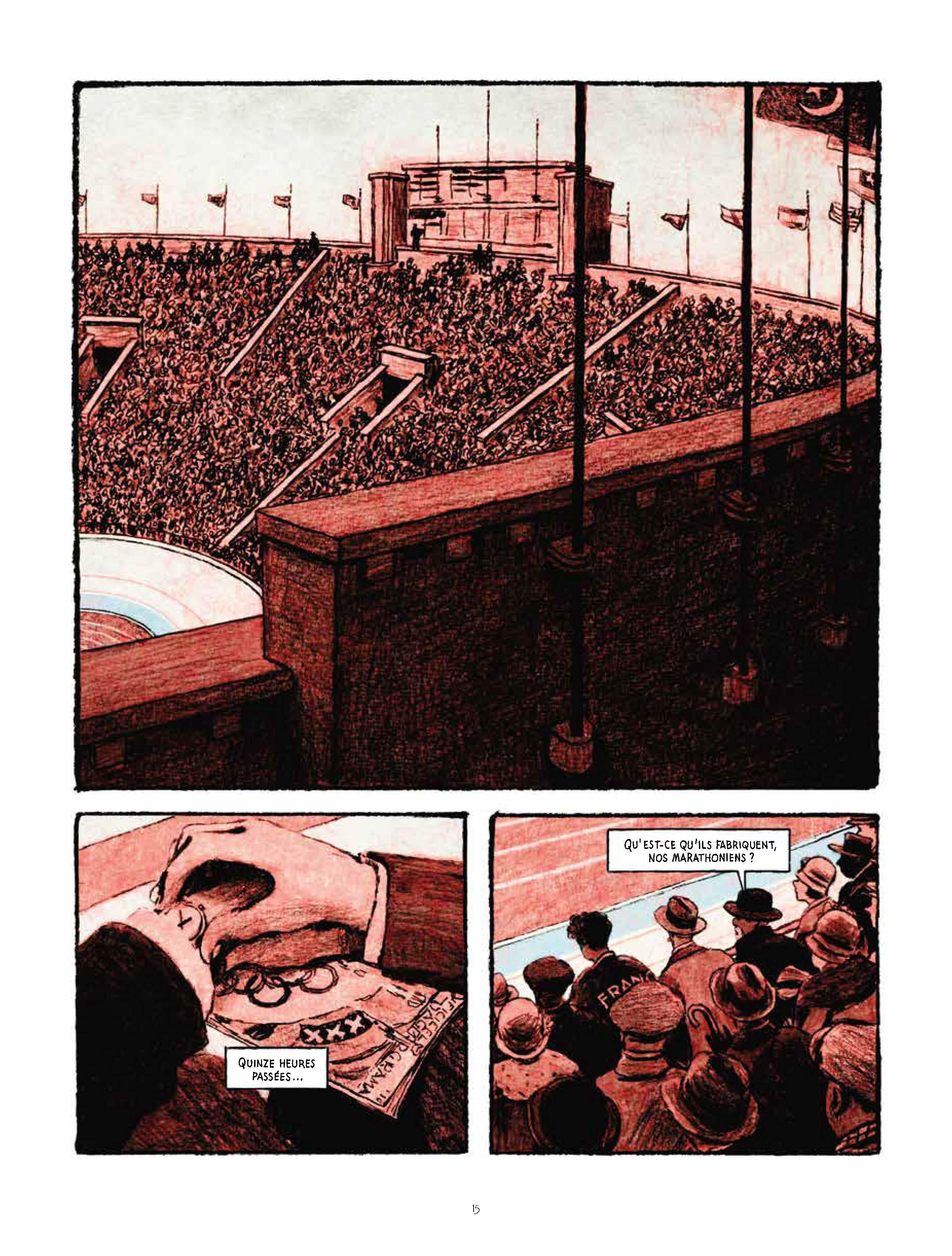 Extrait n°11 de la bd Marathon par Nicolas Debon