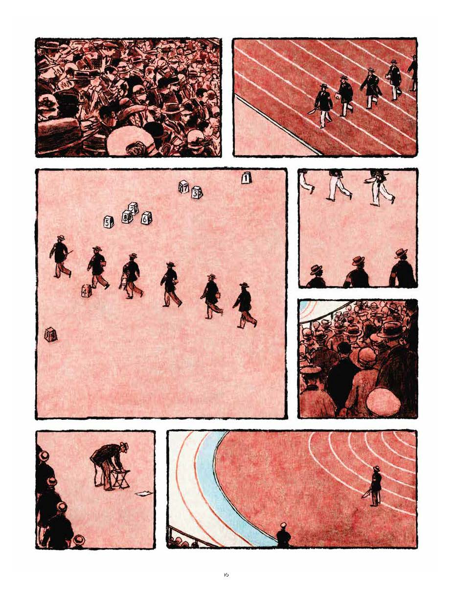 Extrait n°12 de la bd Marathon par Nicolas Debon