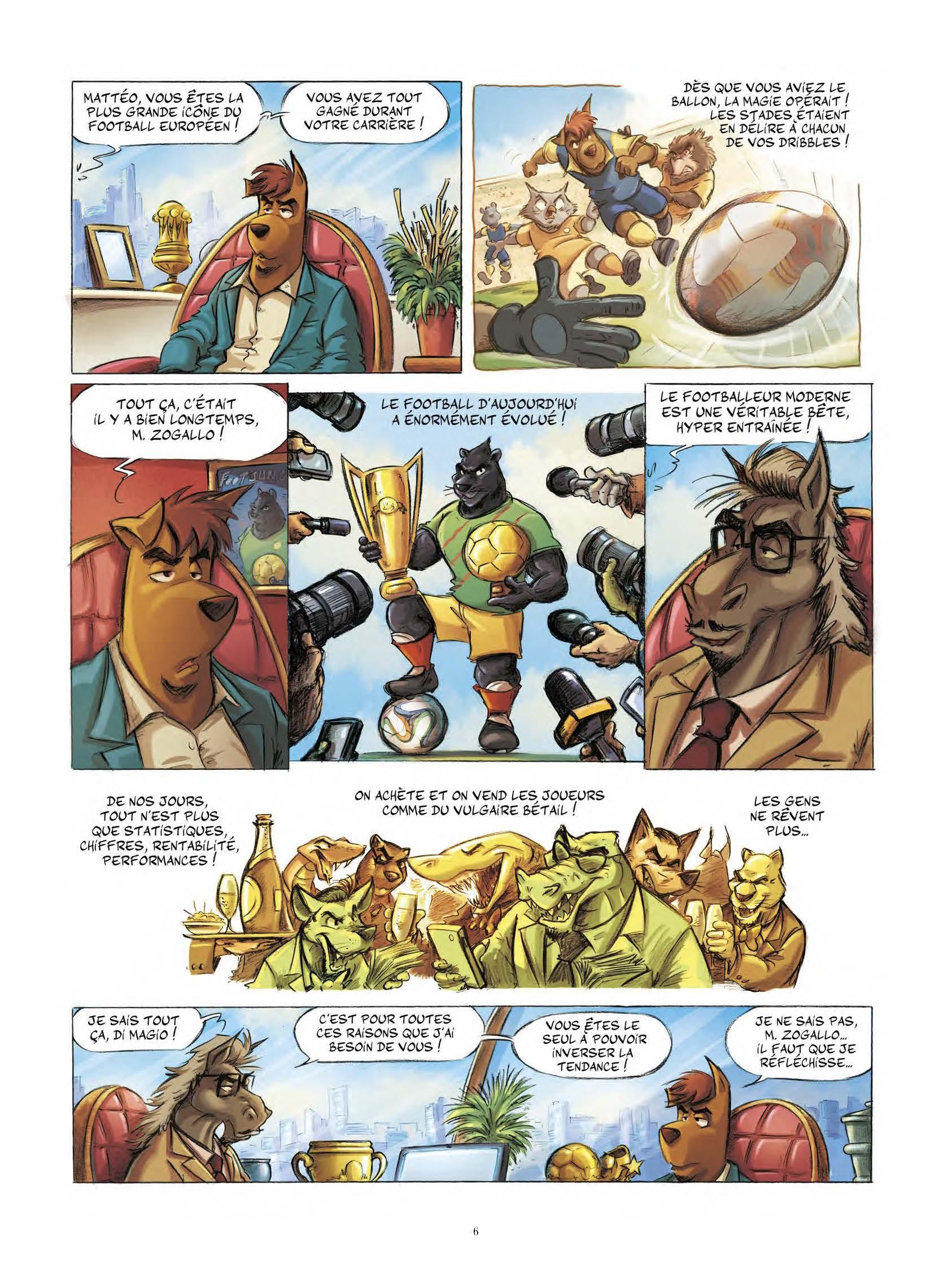 Extrait n°5 tome 1 par Aré