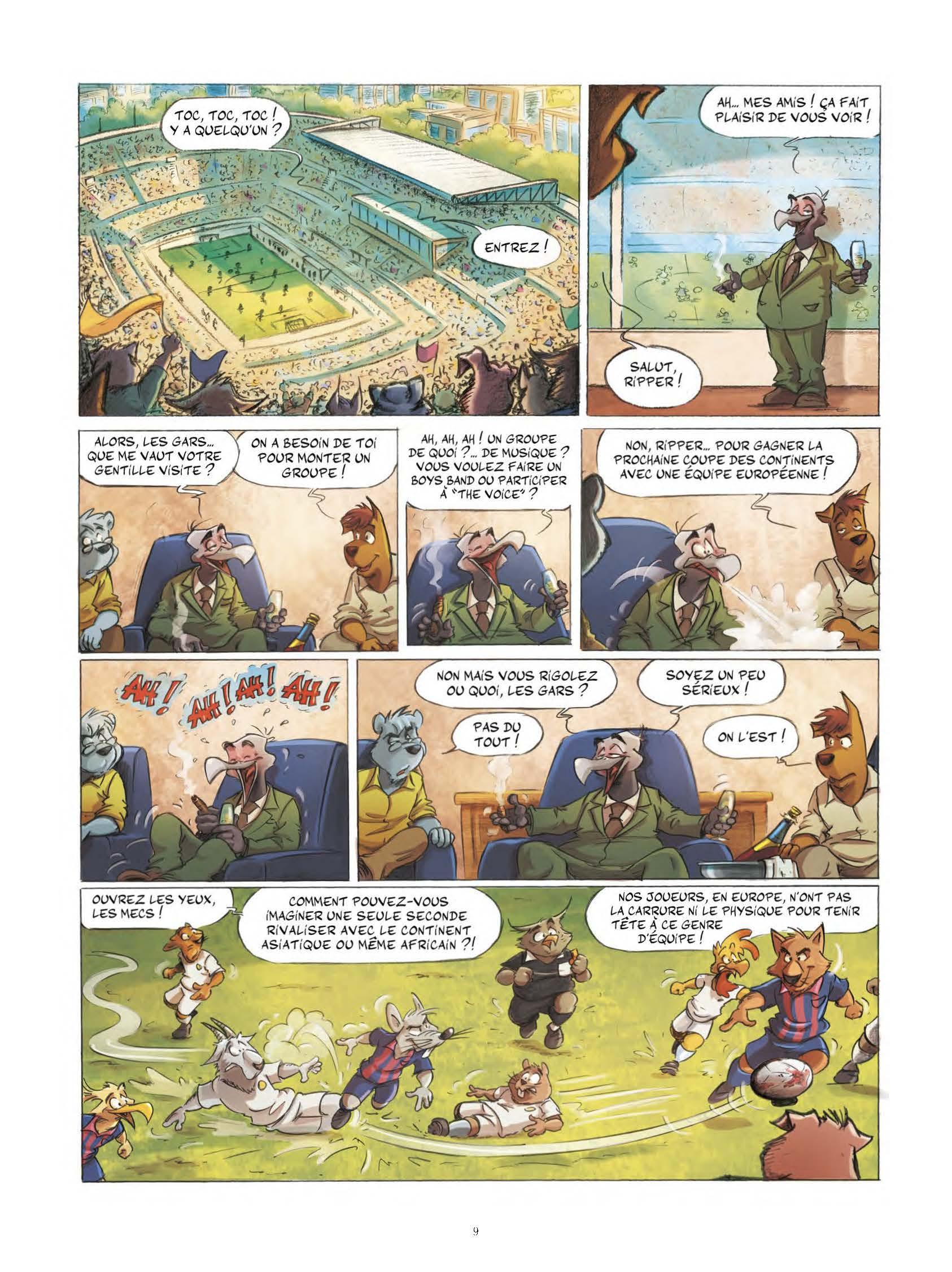 Extrait n°8 tome 1 par Aré
