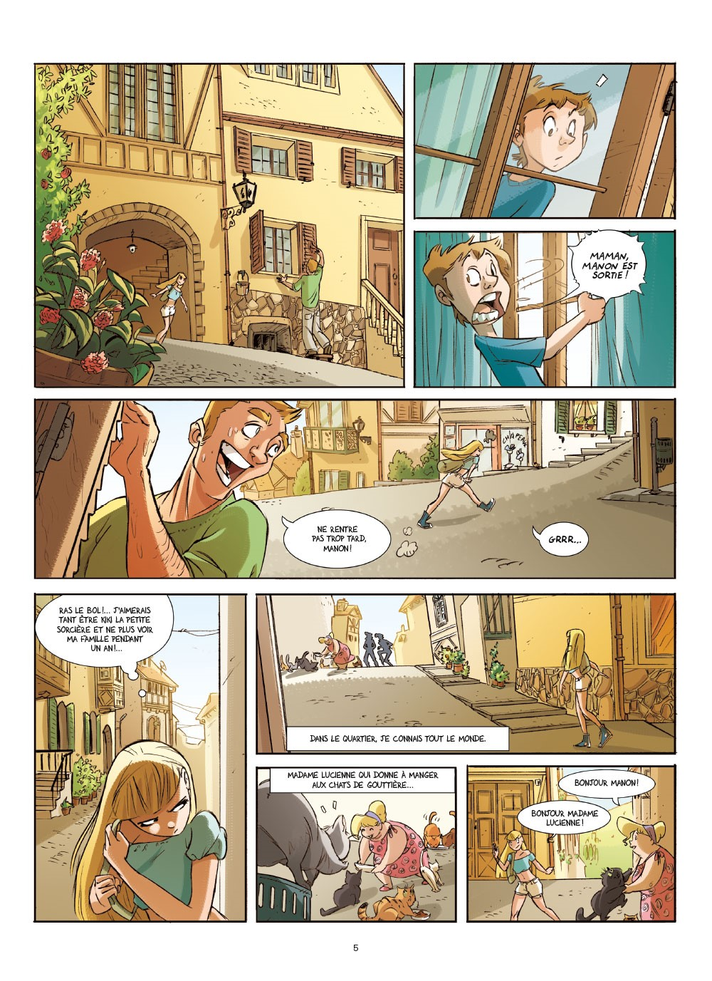 Extrait n°8 de la bd tome 1 par Brrémaud