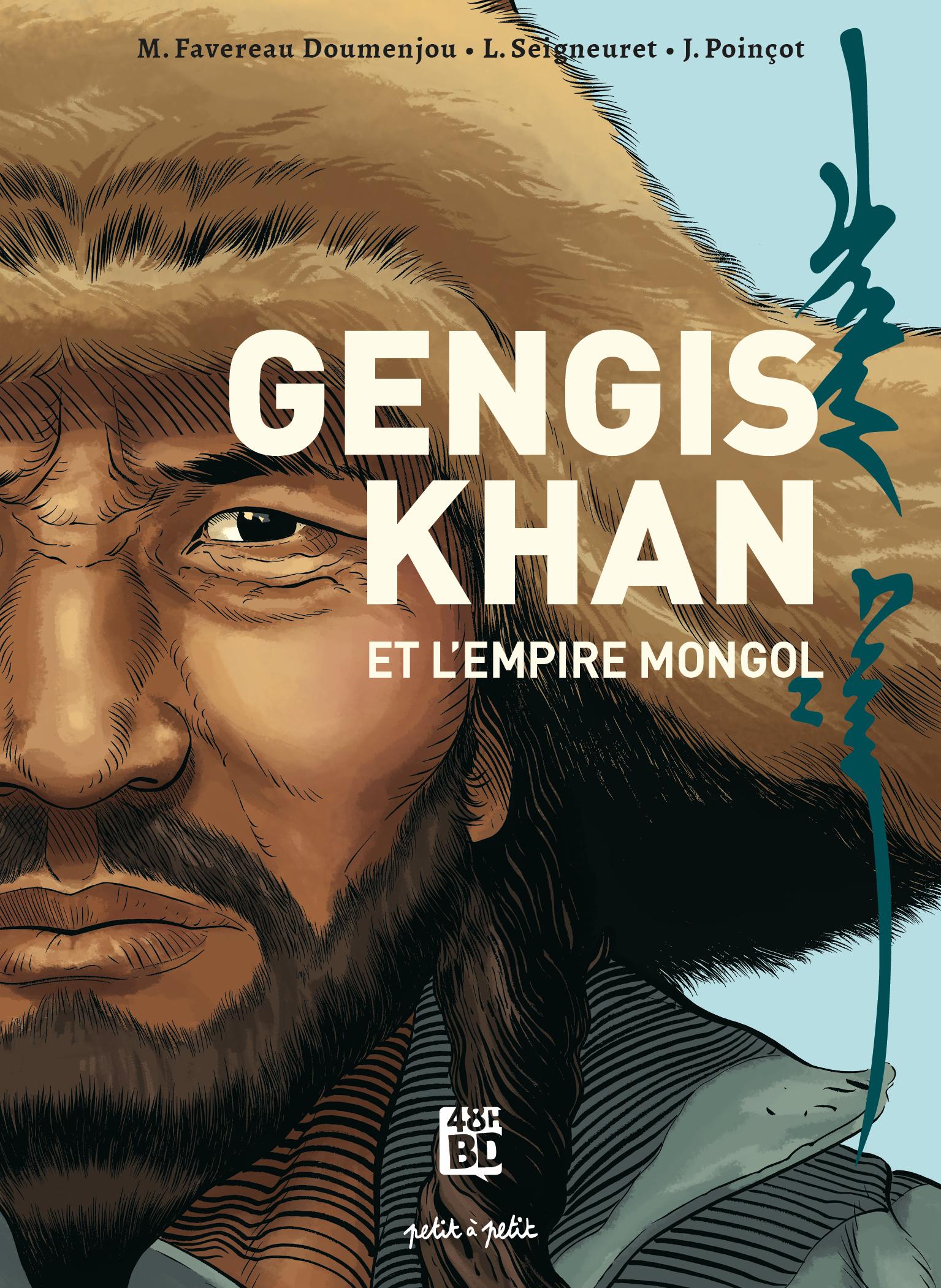 Gengis Khan et l'empire mongol  - 48H BD 2021
