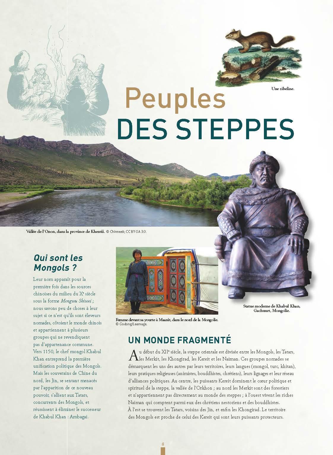 Extrait n°6 de la bd Gengis Khan et l'empire Mongol - 48HBD 2021 par Collectif