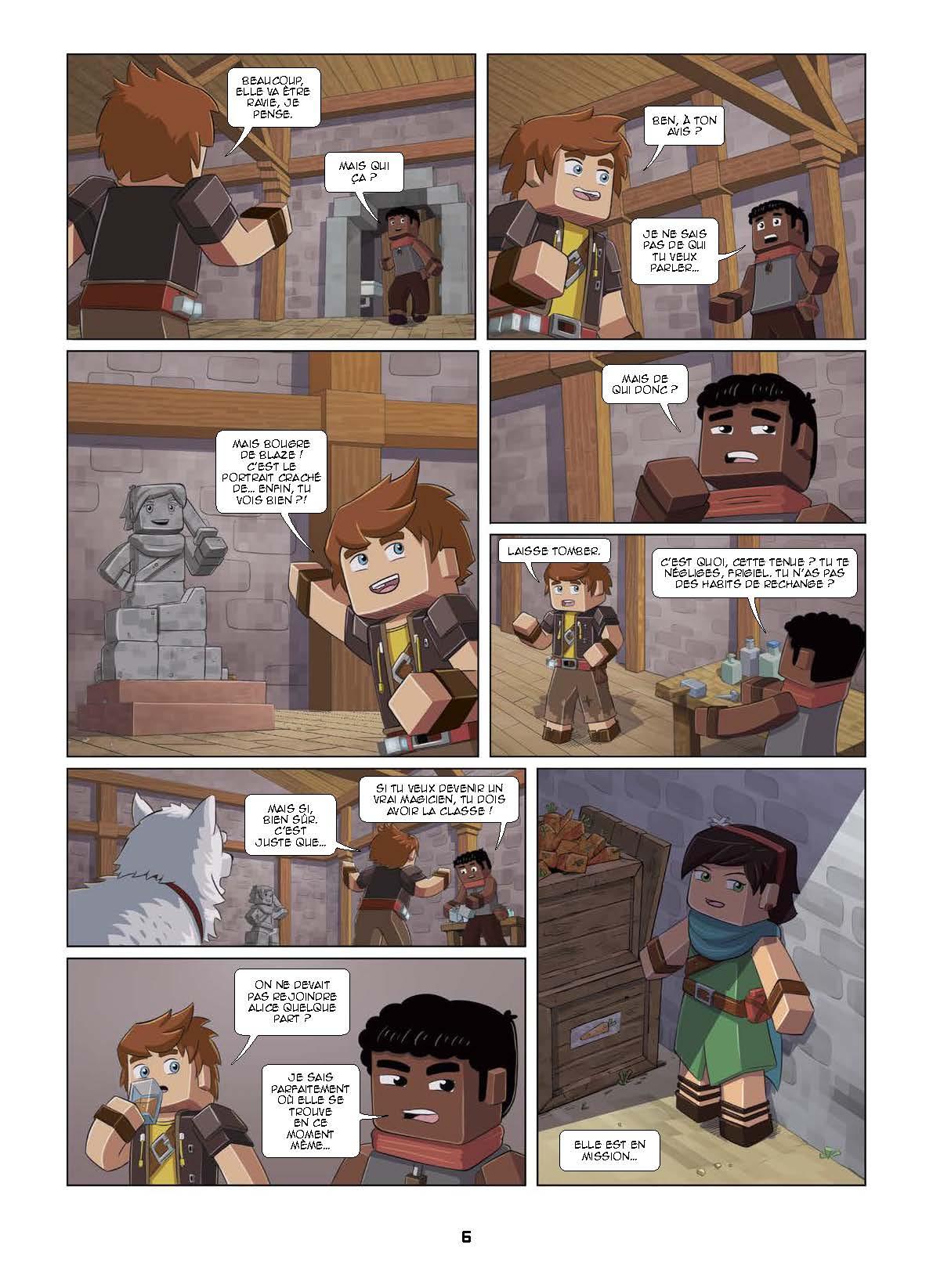 Extrait n°10 tome 1 par Frigiel