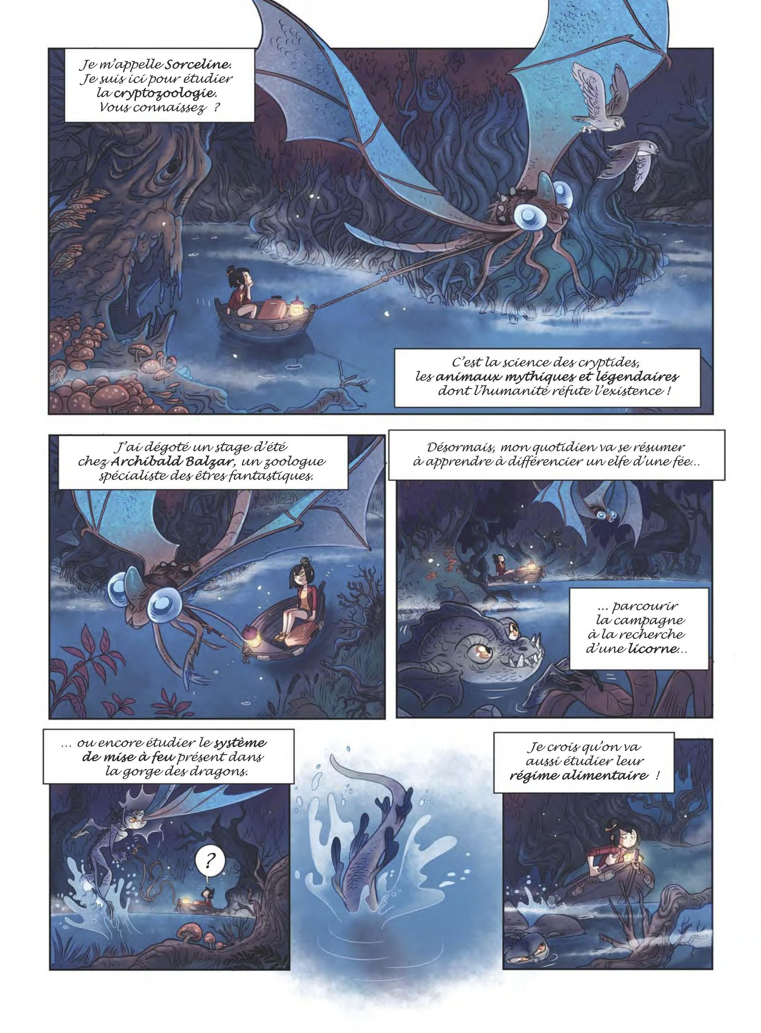 Extrait n°4 de la bd tome 1 par Sylvia Douyé