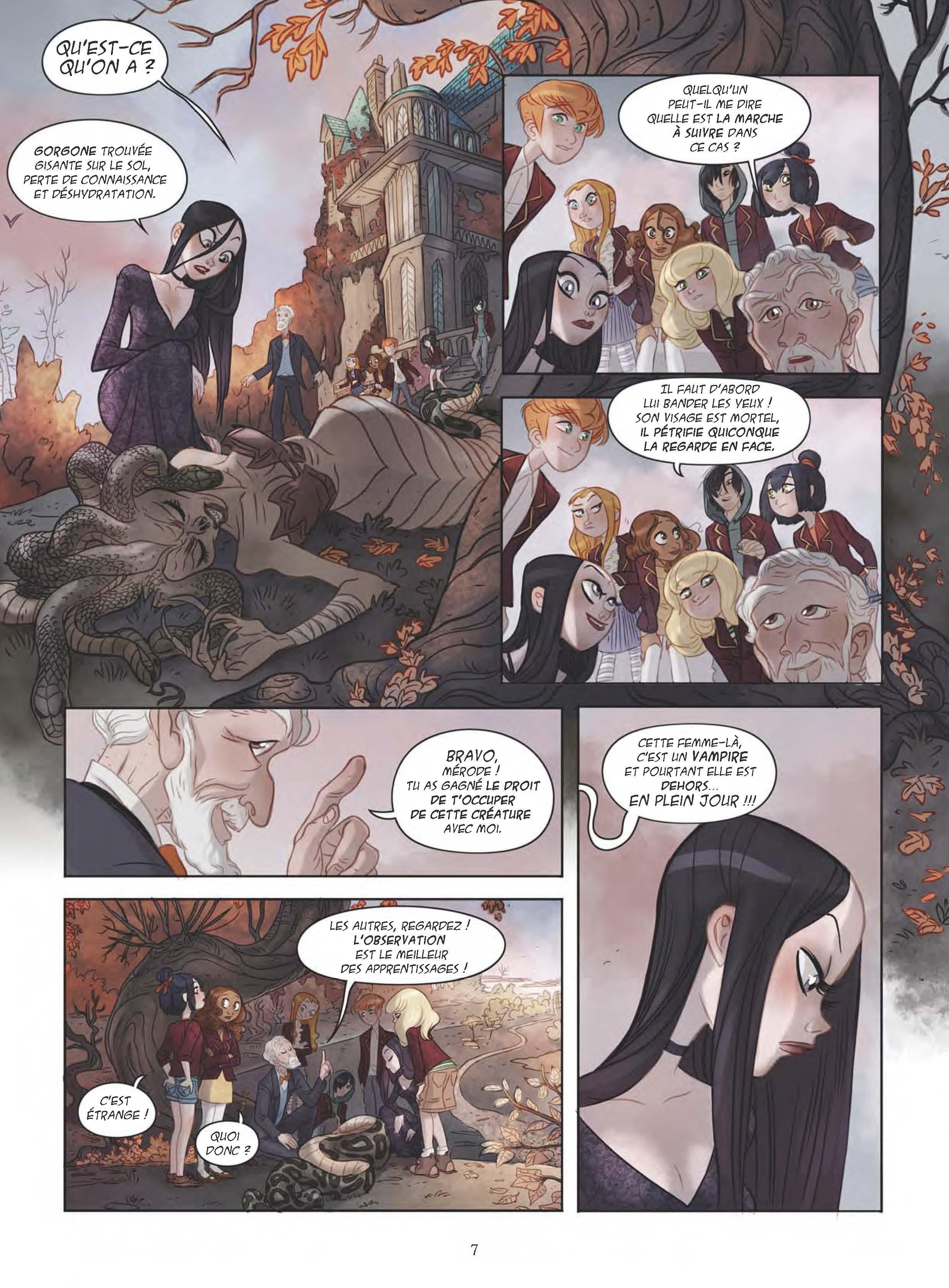 Extrait n°7 de la bd tome 1 par Sylvia Douyé